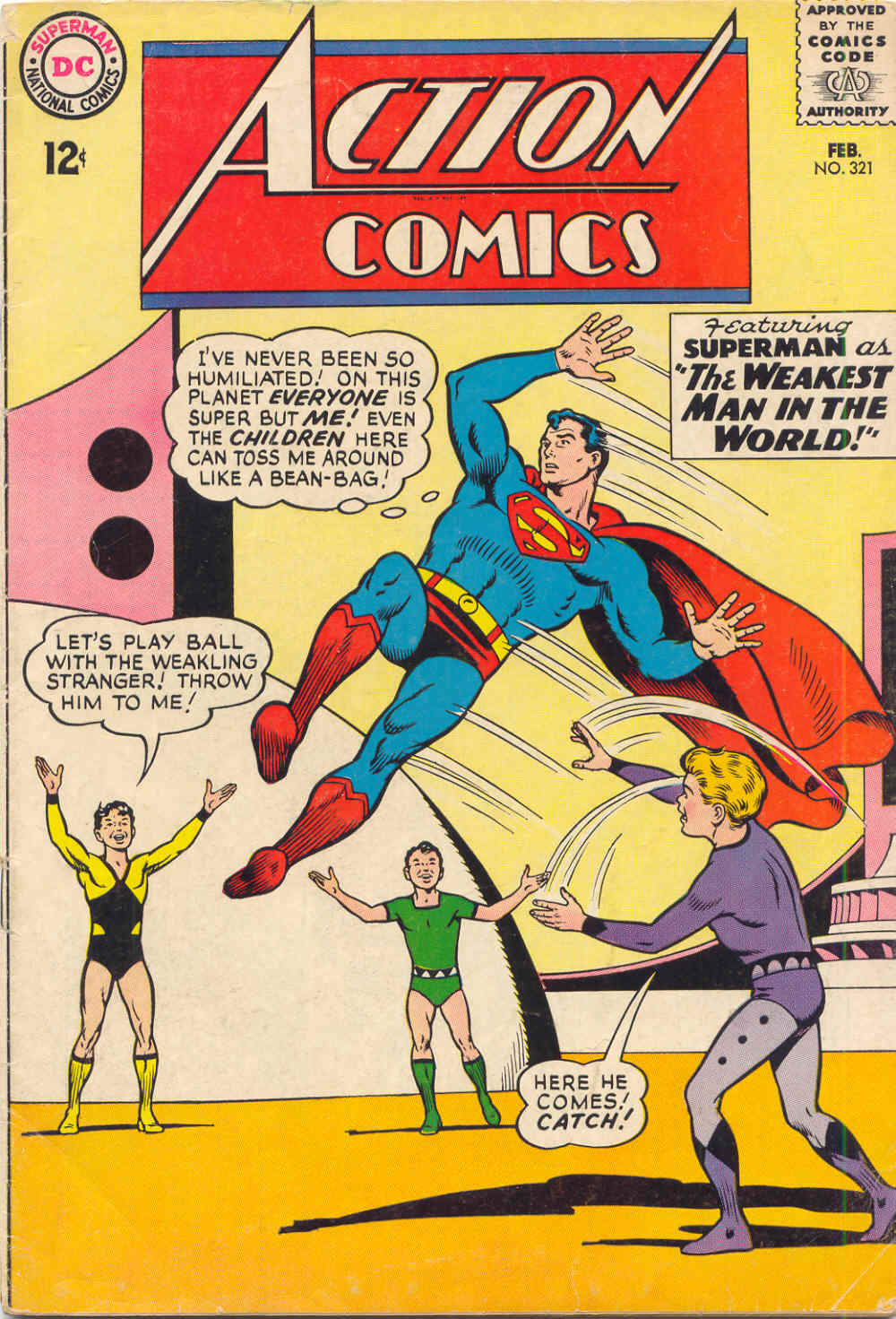 Read online Action Comics (1938) comic -  Issue #321 - 1