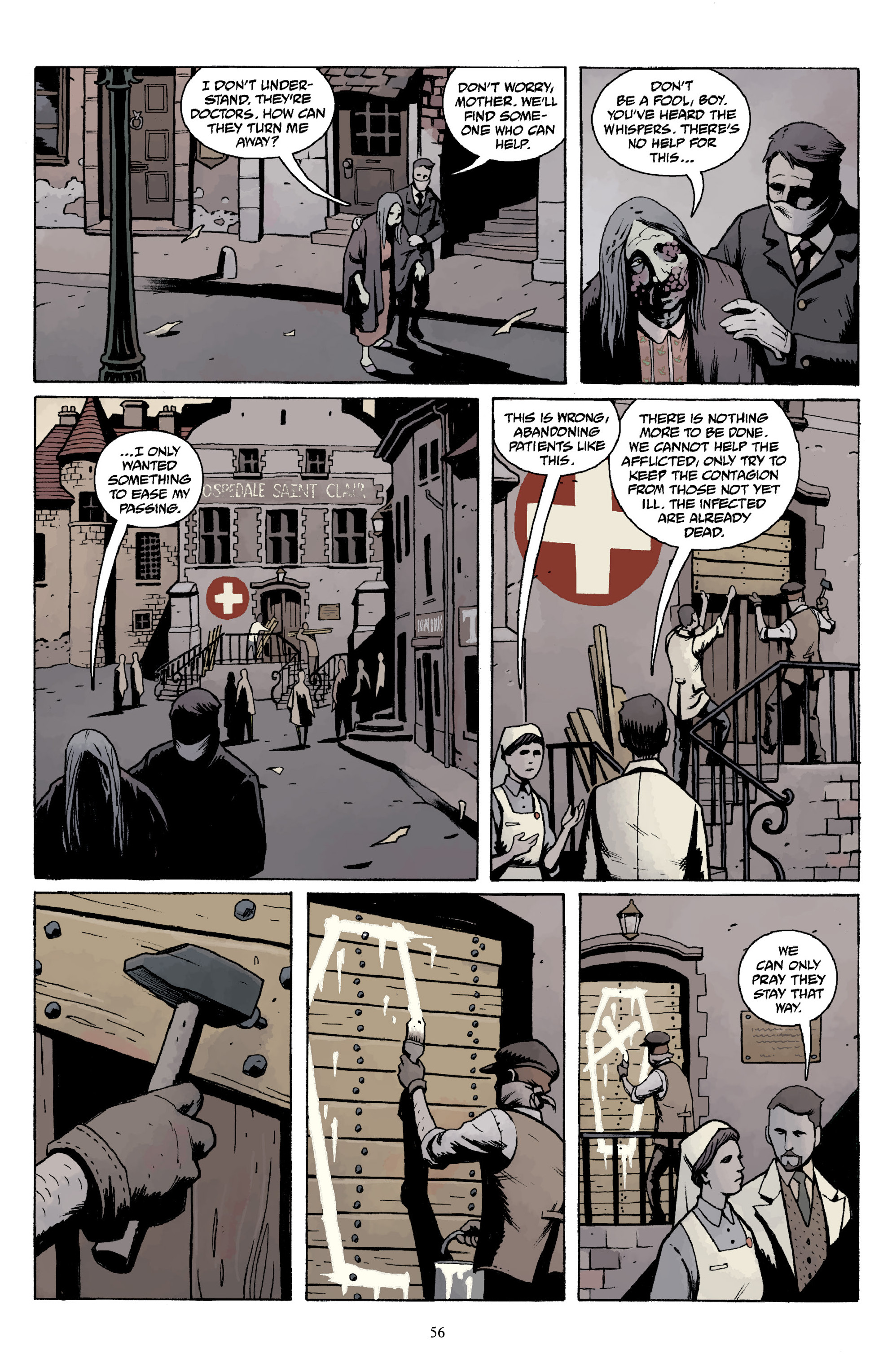 Read online Baltimore Volume 3: A Passing Stranger and Other Stories comic -  Issue # Full - 58