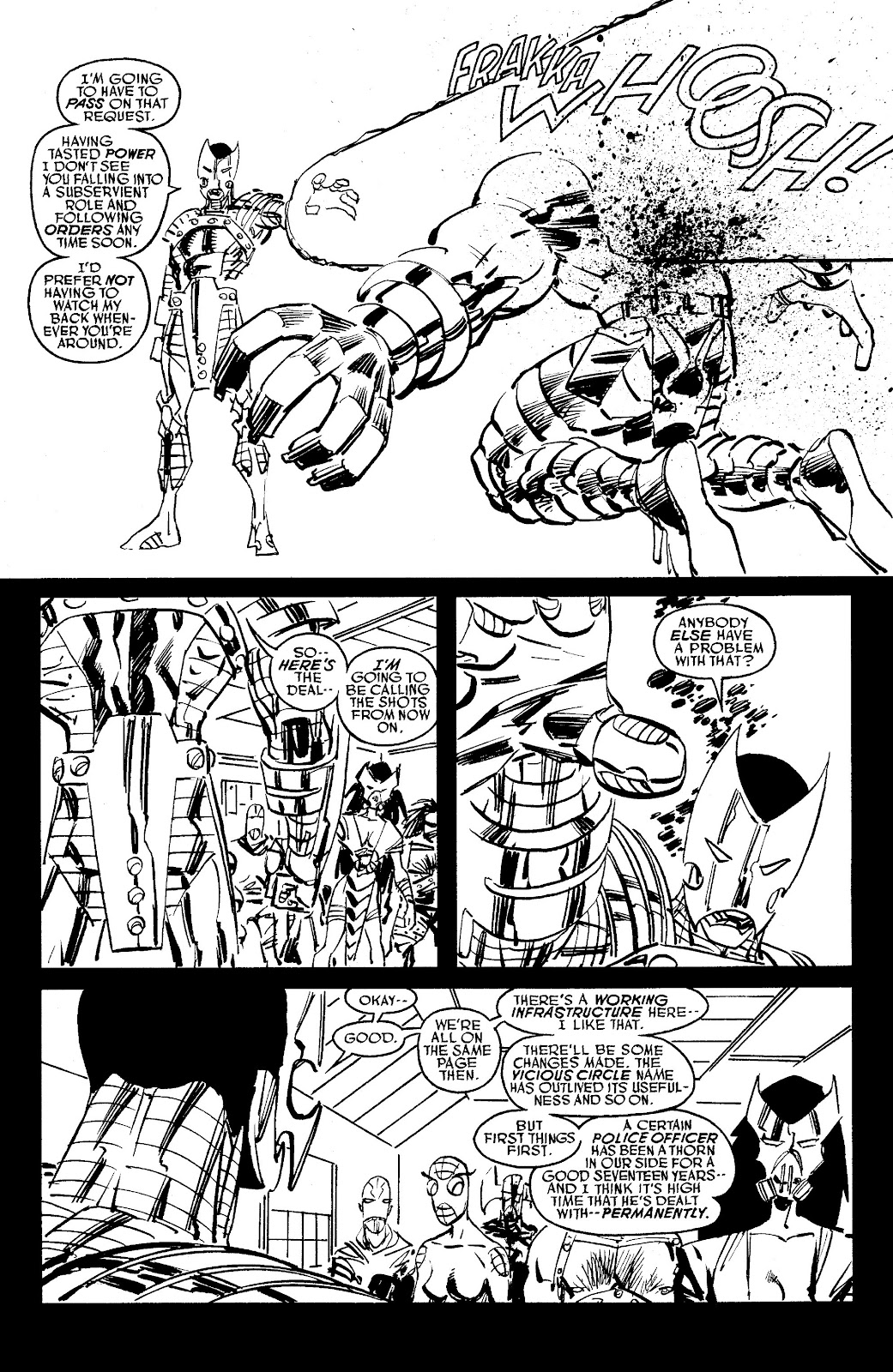 Read online Savage Dragon Archives comic -  Issue # TPB 6 (Part 6) - 1