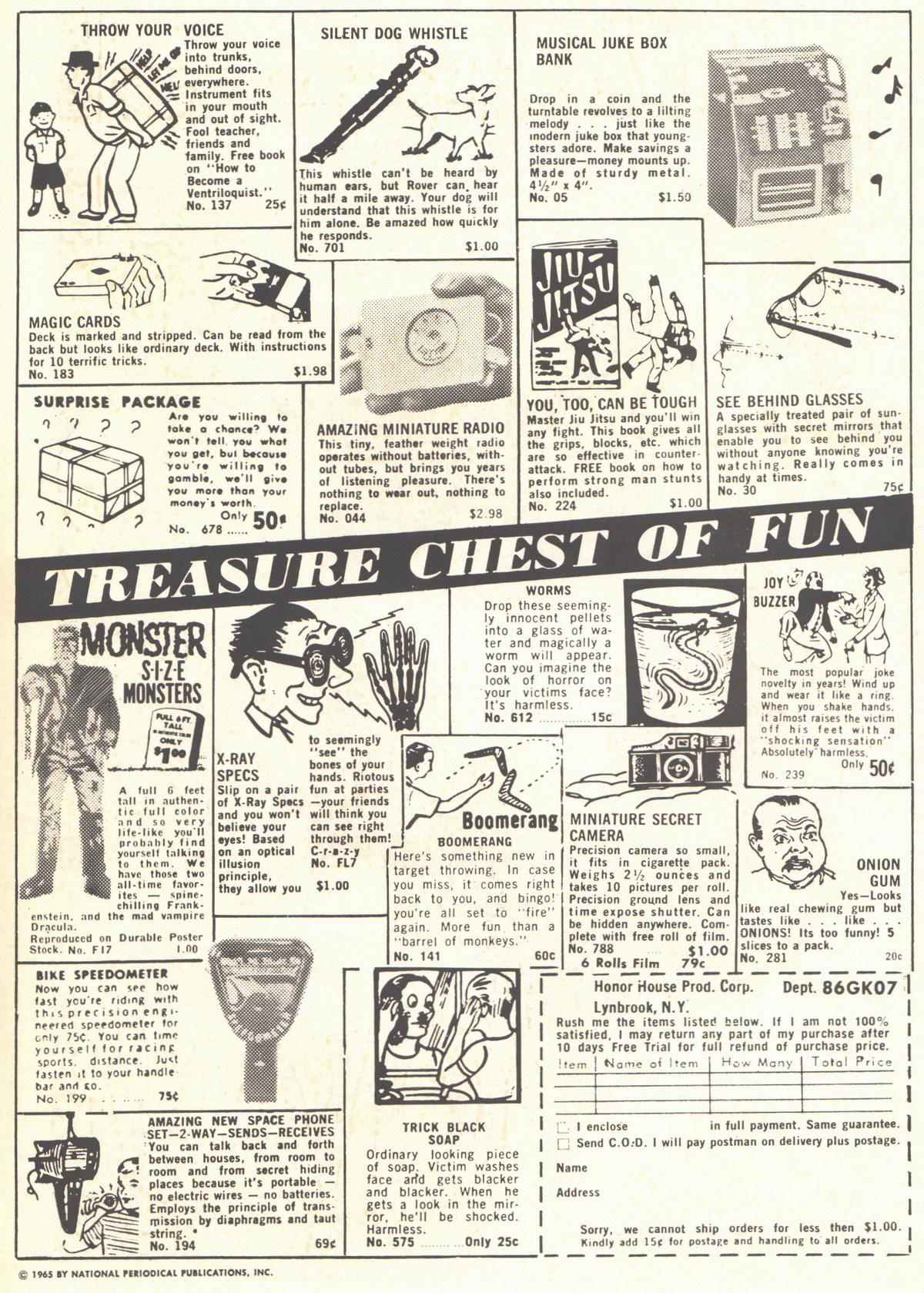 Read online Adventure Comics (1938) comic -  Issue #334 - 2