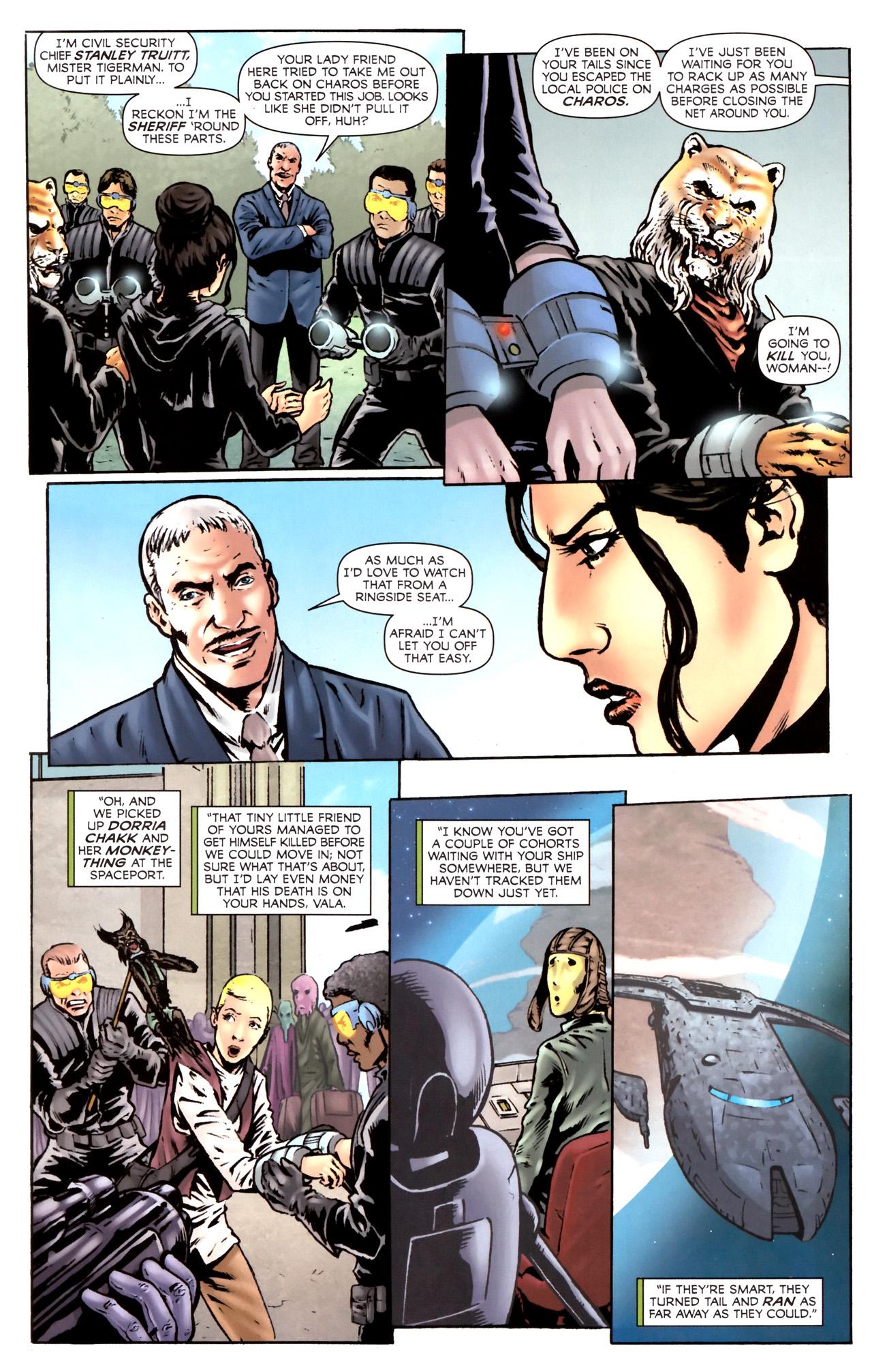 Read online Stargate Vala Mal Doran comic -  Issue #2 - 22