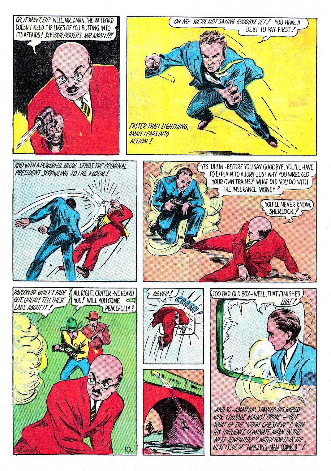 Amazing Man Comics issue 5 - Page 12