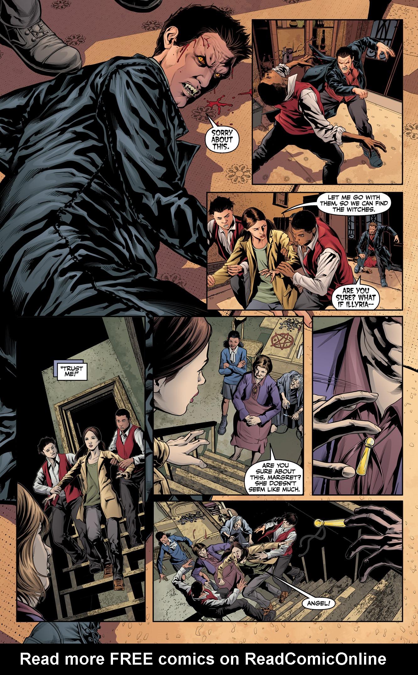 Read online Angel & Faith Season 10 comic -  Issue #15 - 19