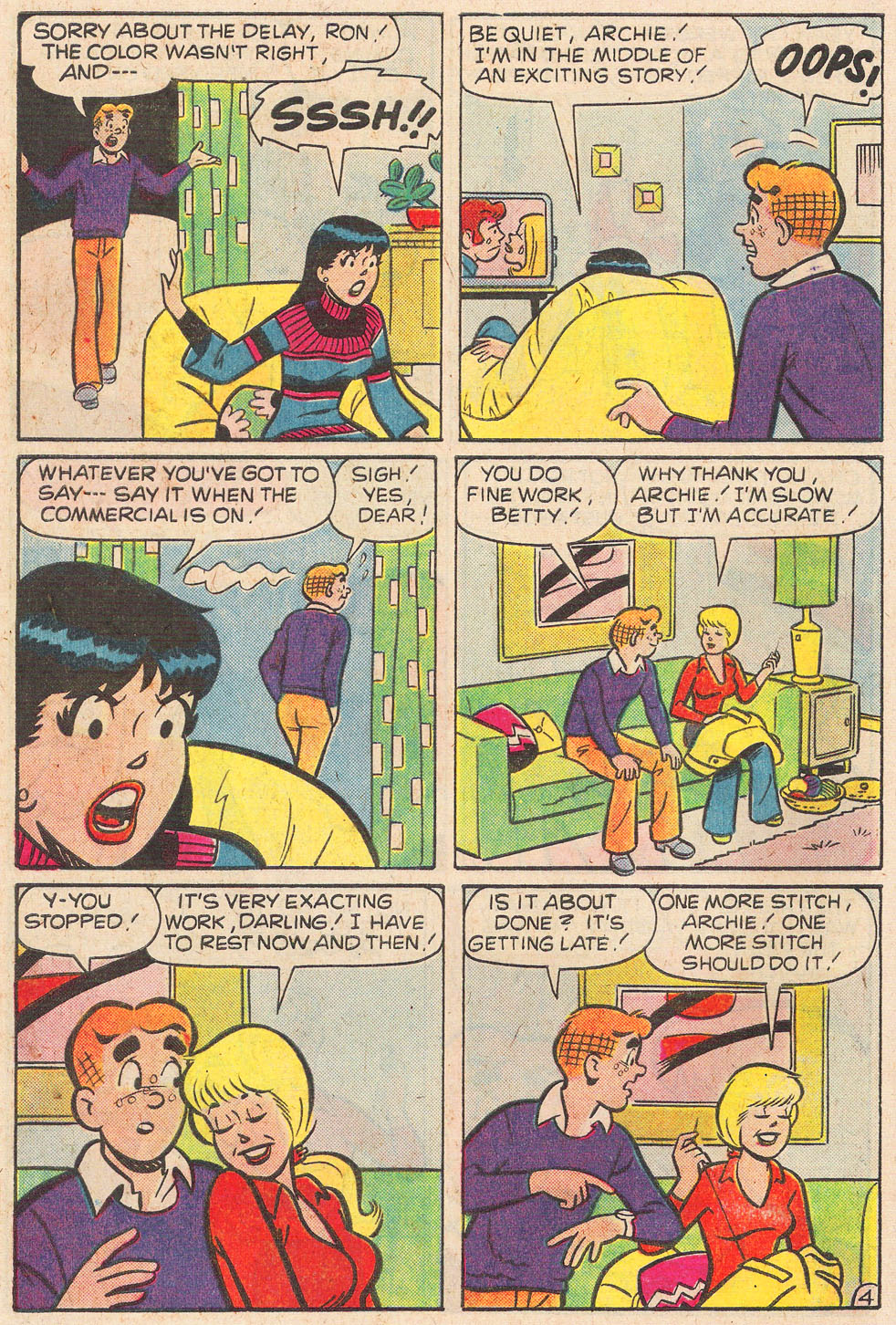 Read online Archie's Girls Betty and Veronica comic -  Issue #248 - 16