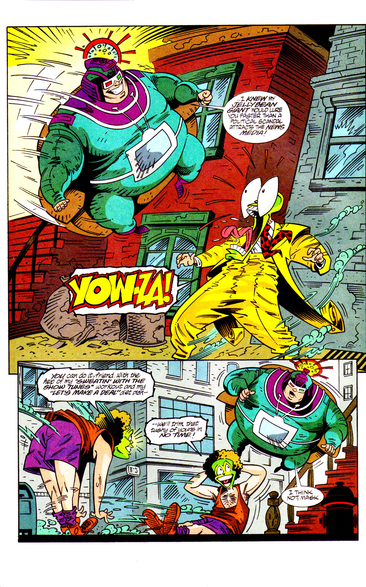 Read online Adventures Of The Mask comic -  Issue #7 - 14