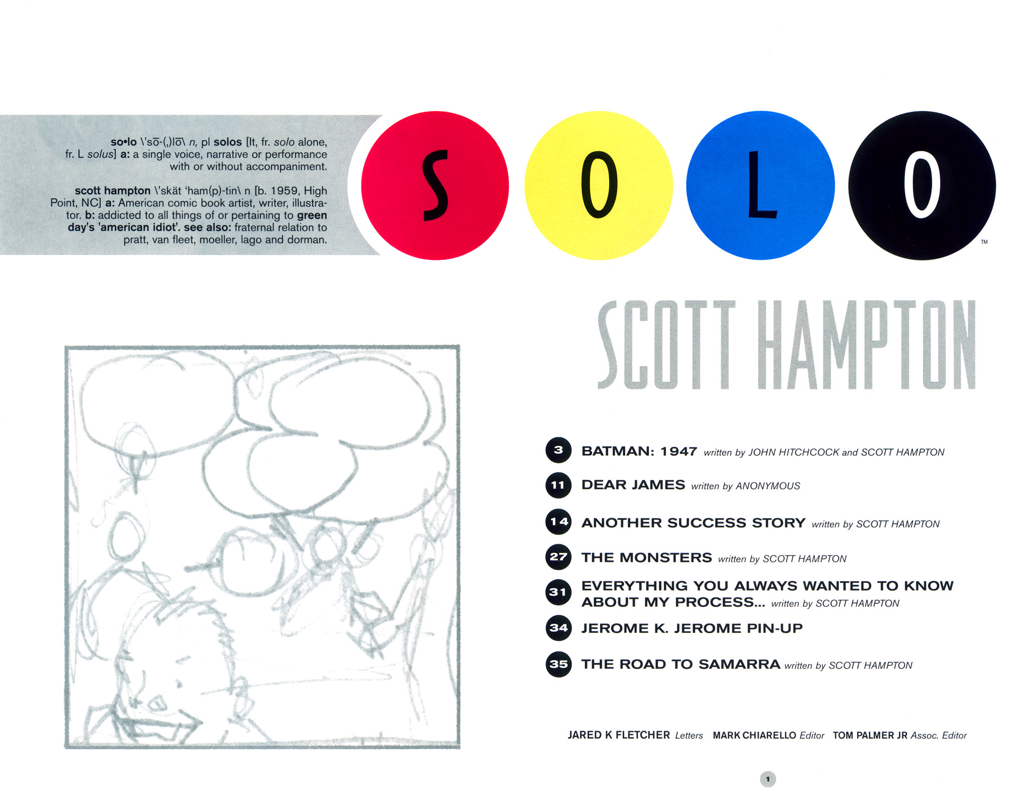 Read online Solo (2004) comic -  Issue #9 - 2