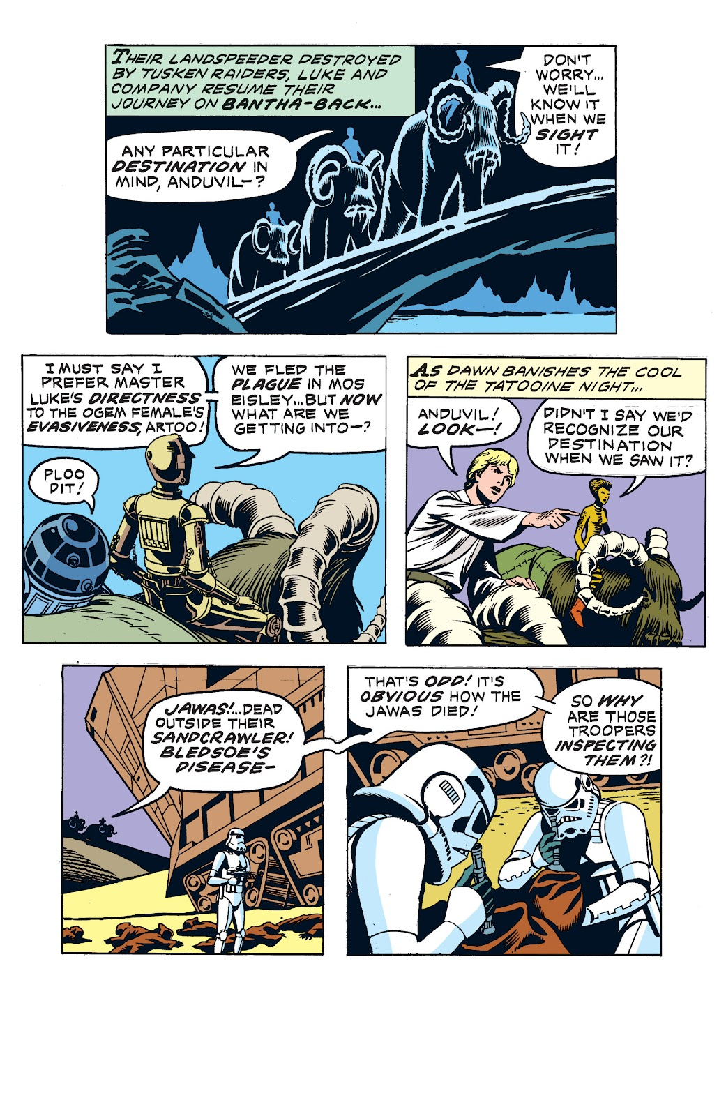 Read online Star Wars Legends: The Newspaper Strips - Epic Collection comic -  Issue # TPB (Part 2) - 36