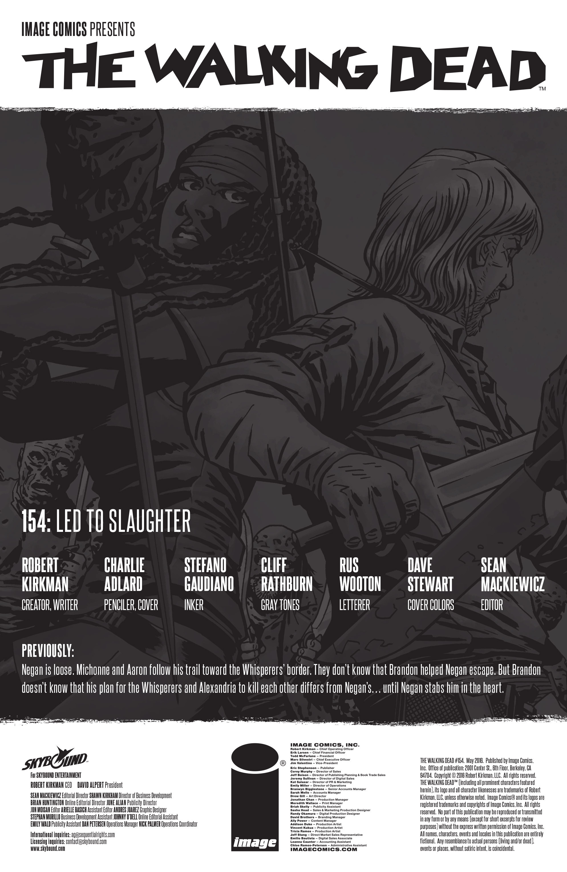 The Walking Dead 154 Page 2