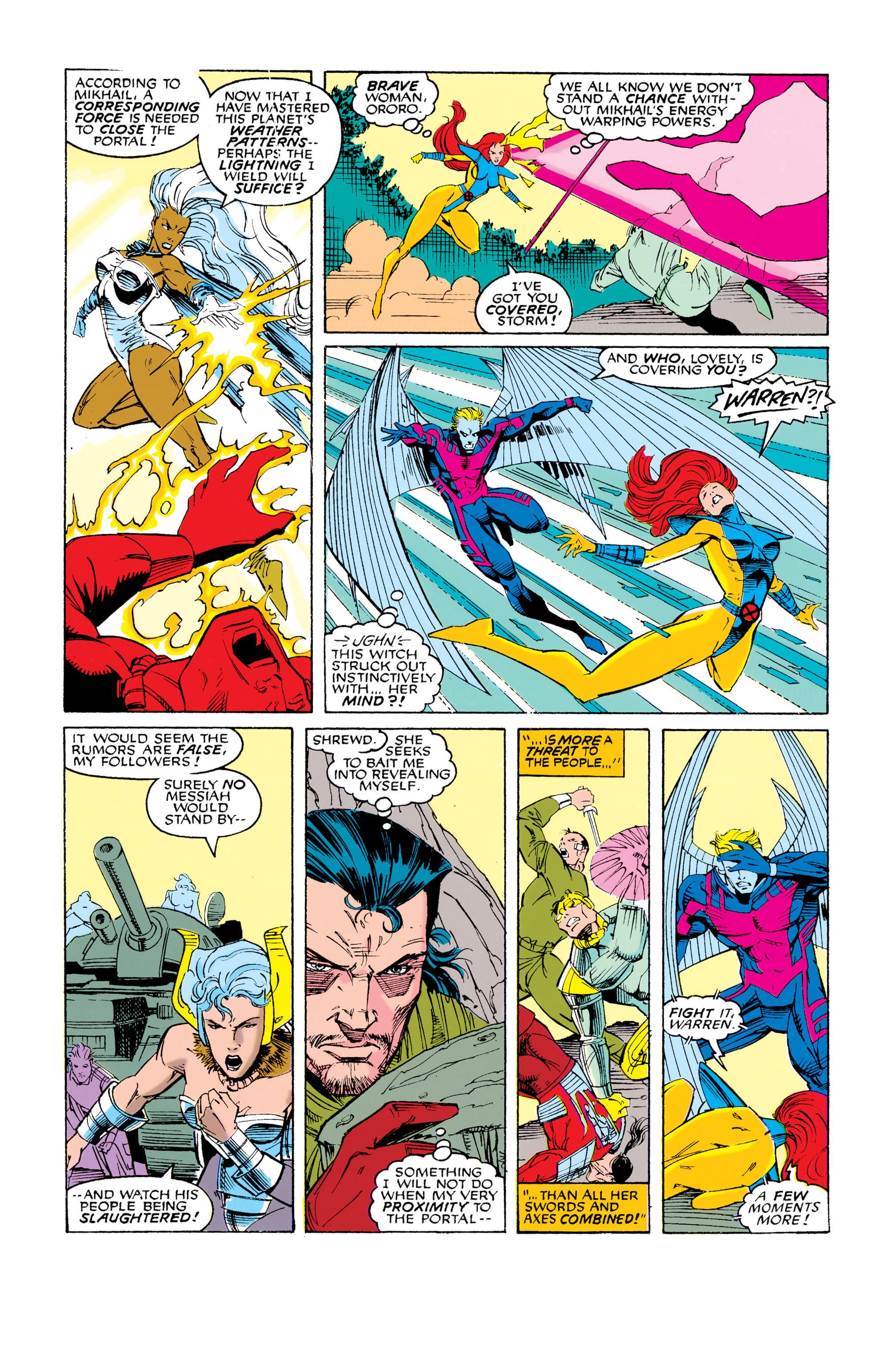 Read online Uncanny X-Men (1963) comic -  Issue #286 - 16