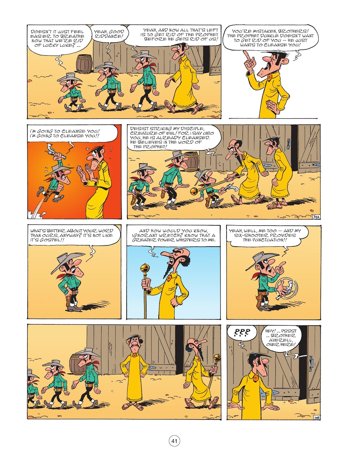 A Lucky Luke Adventure issue 73 - Page 43