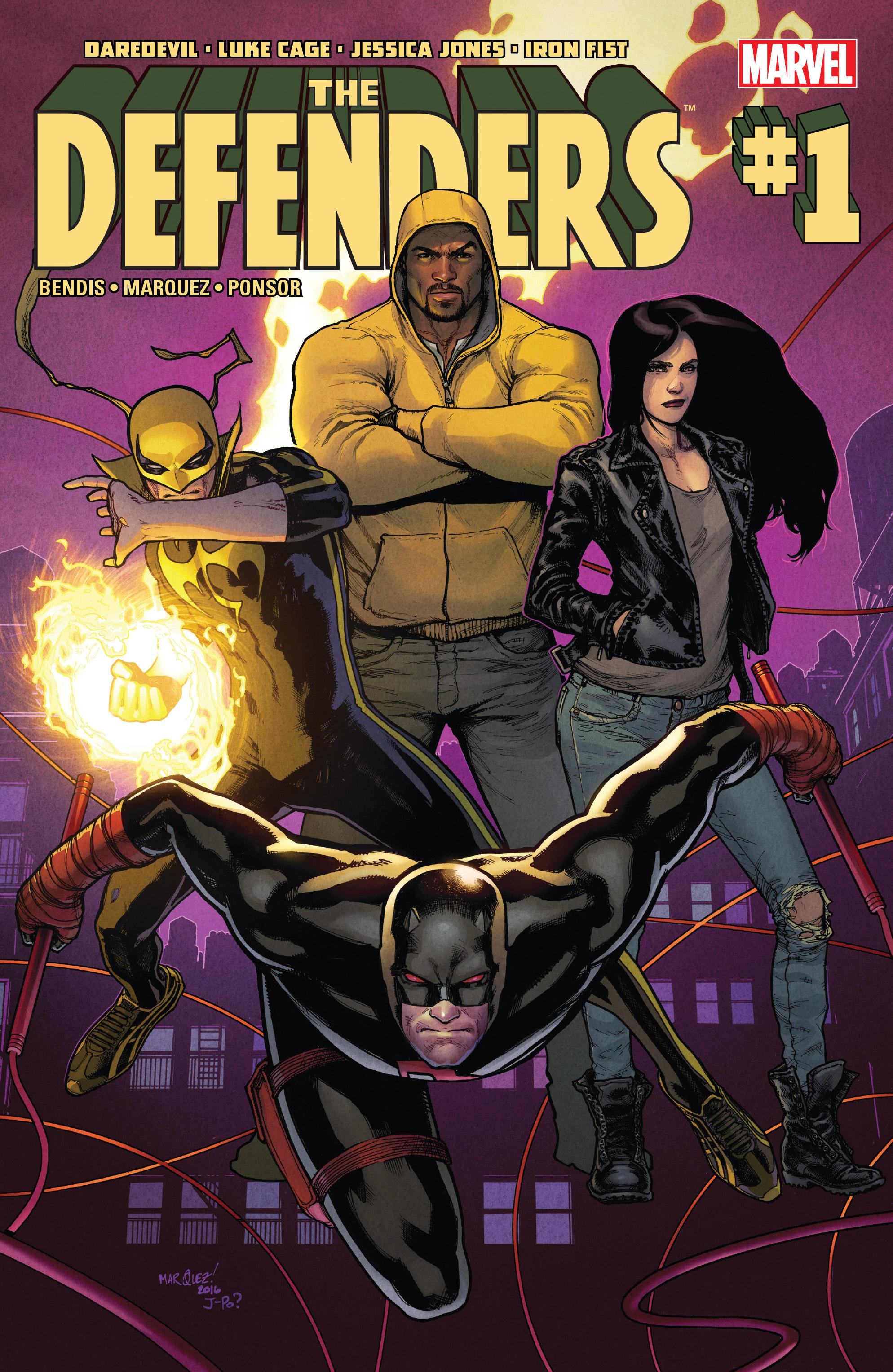 Read online Defenders (2017) comic -  Issue #1 - 1
