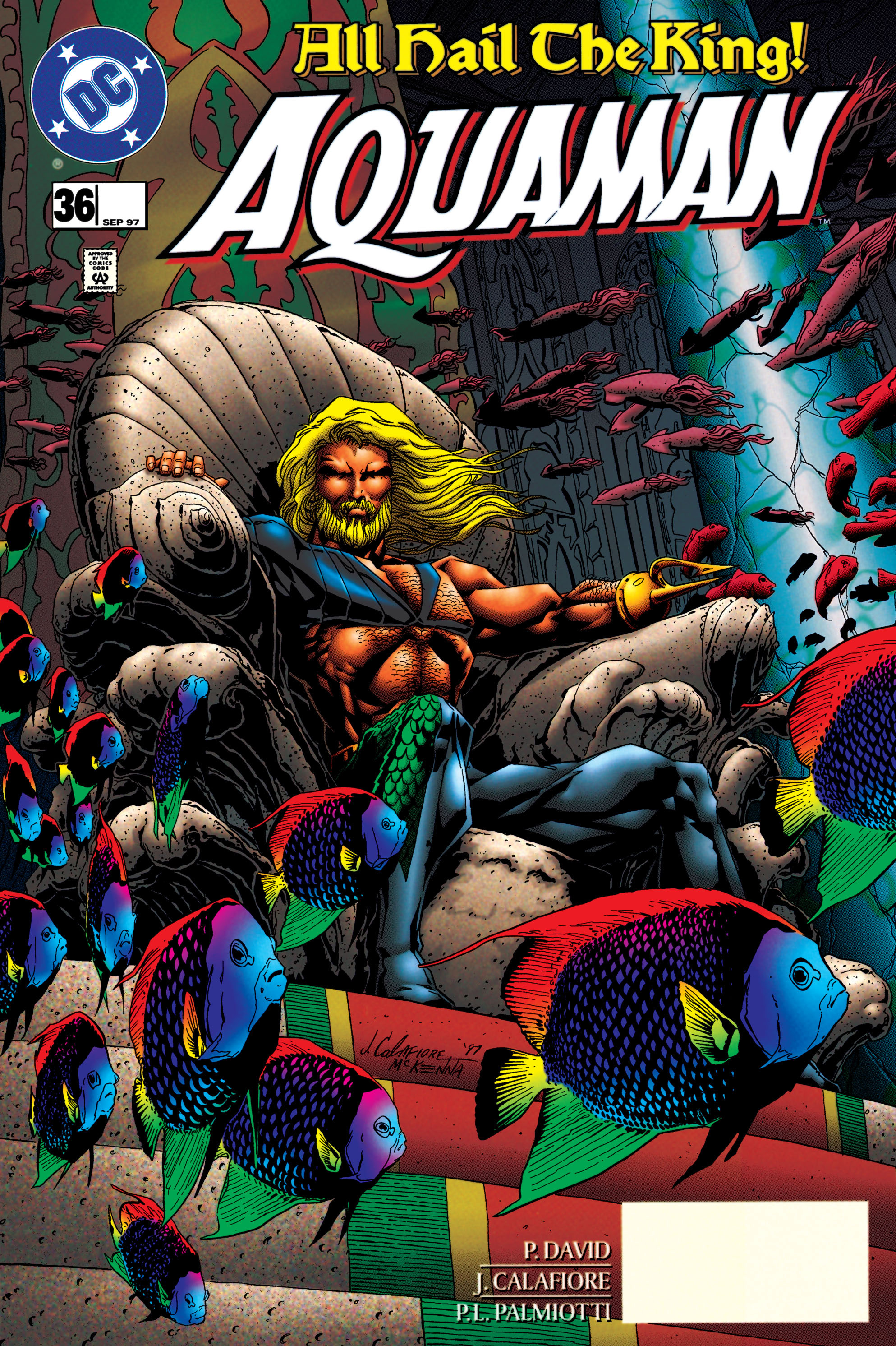 Read online Aquaman (1994) comic -  Issue #36 - 1