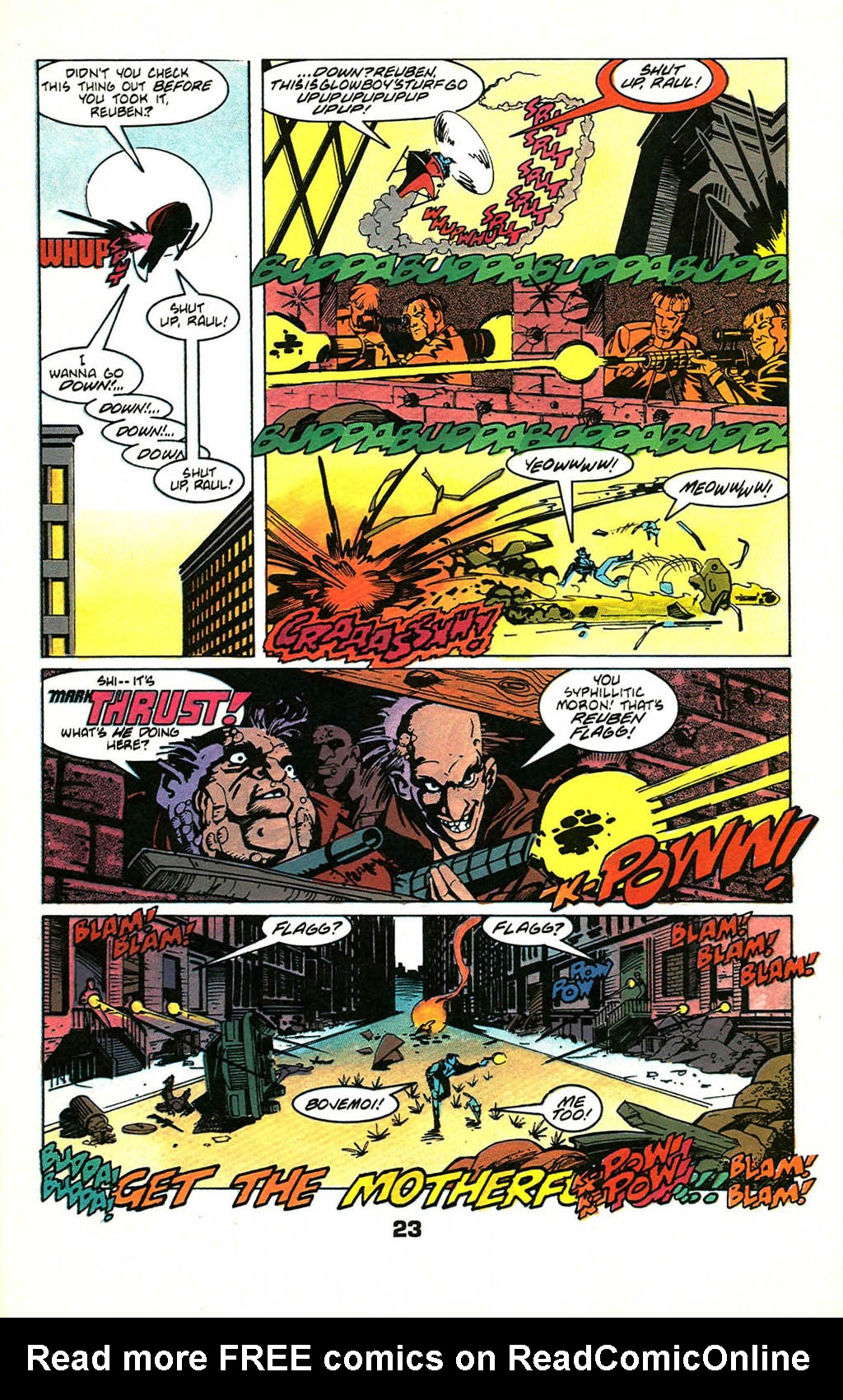 Read online American Flagg! comic -  Issue #46 - 29