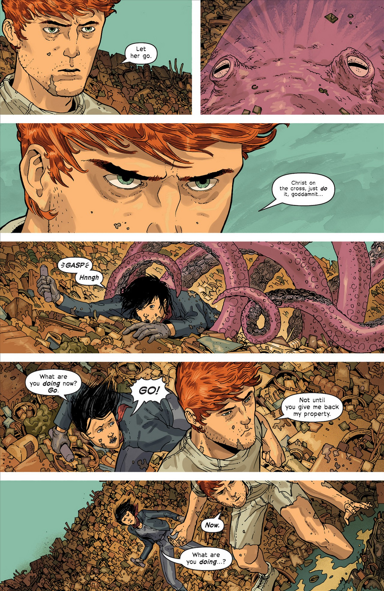 Read online Great Pacific comic -  Issue #4 - 5