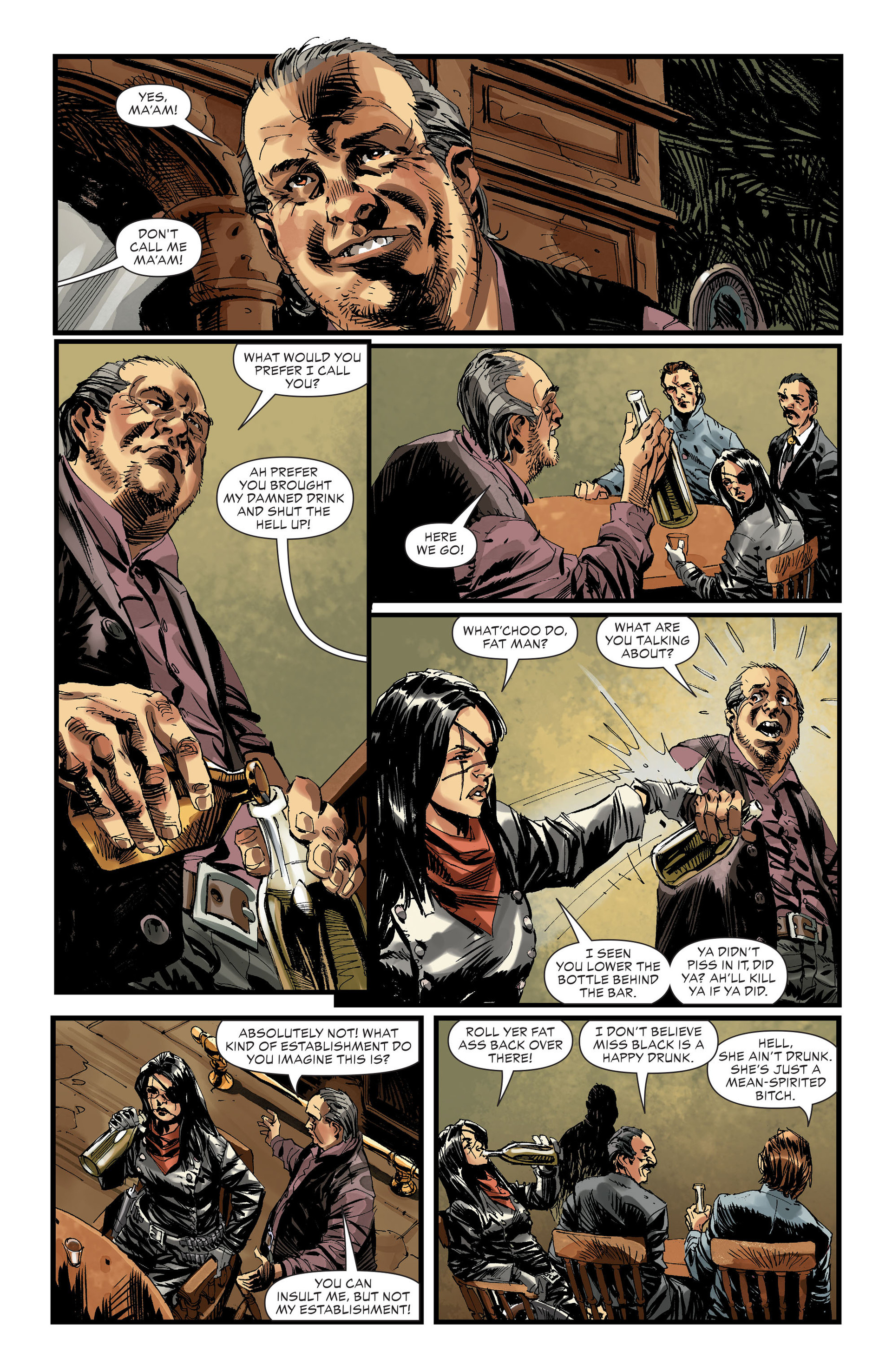 Read online All-Star Western (2011) comic -  Issue #32 - 9