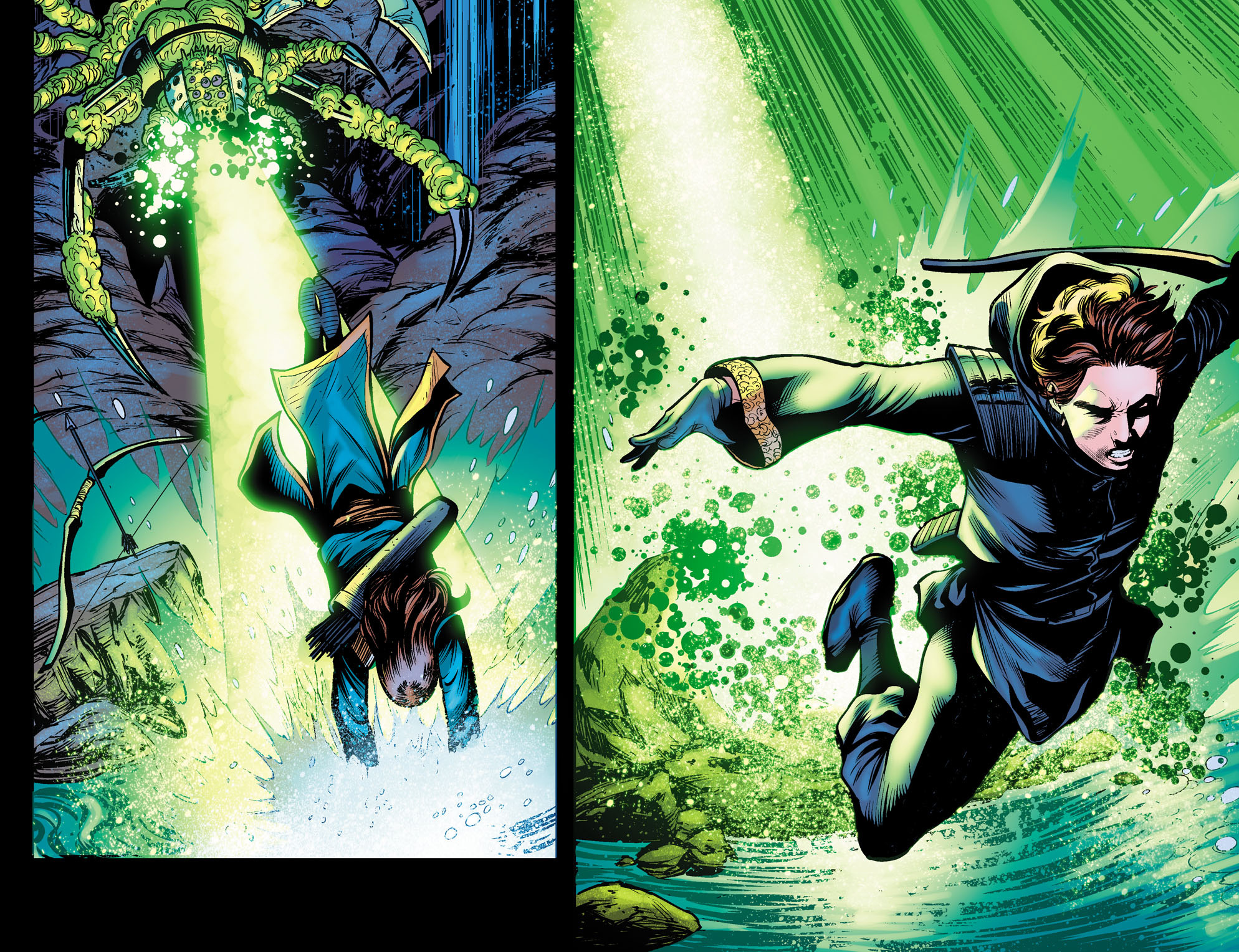 Read online Arrow: The Dark Archer comic -  Issue #10 - 8