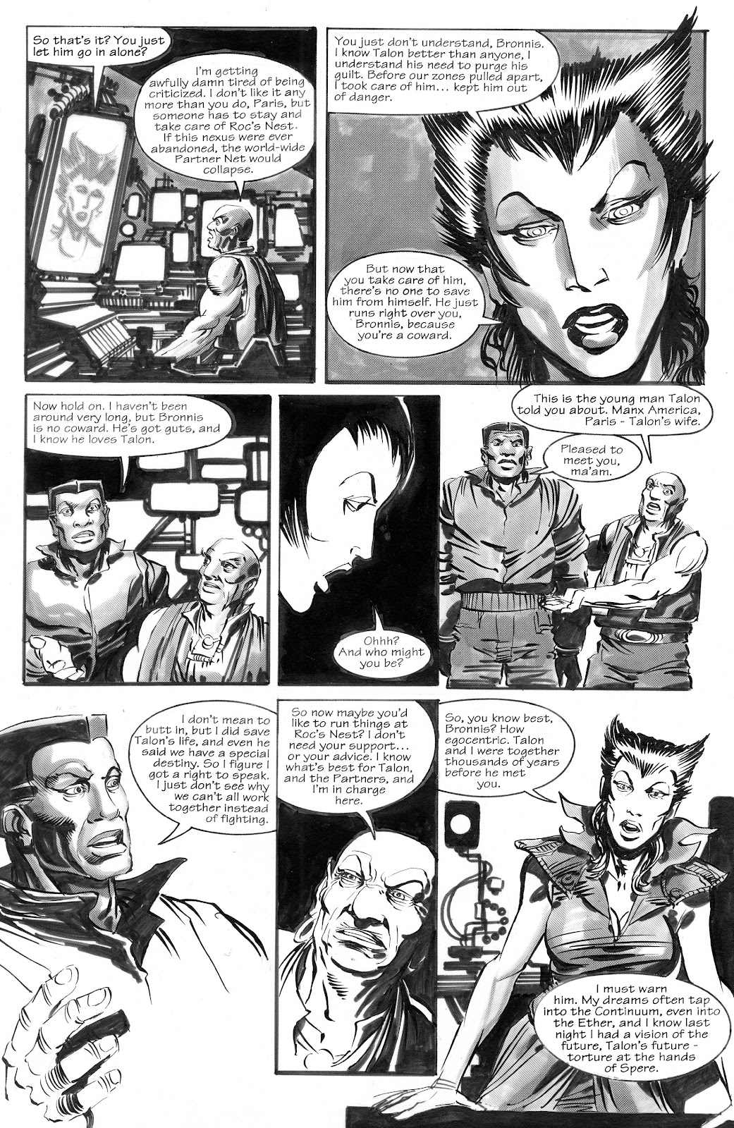 Read online The Zone Continuum: Legacy comic -  Issue # TPB - 76