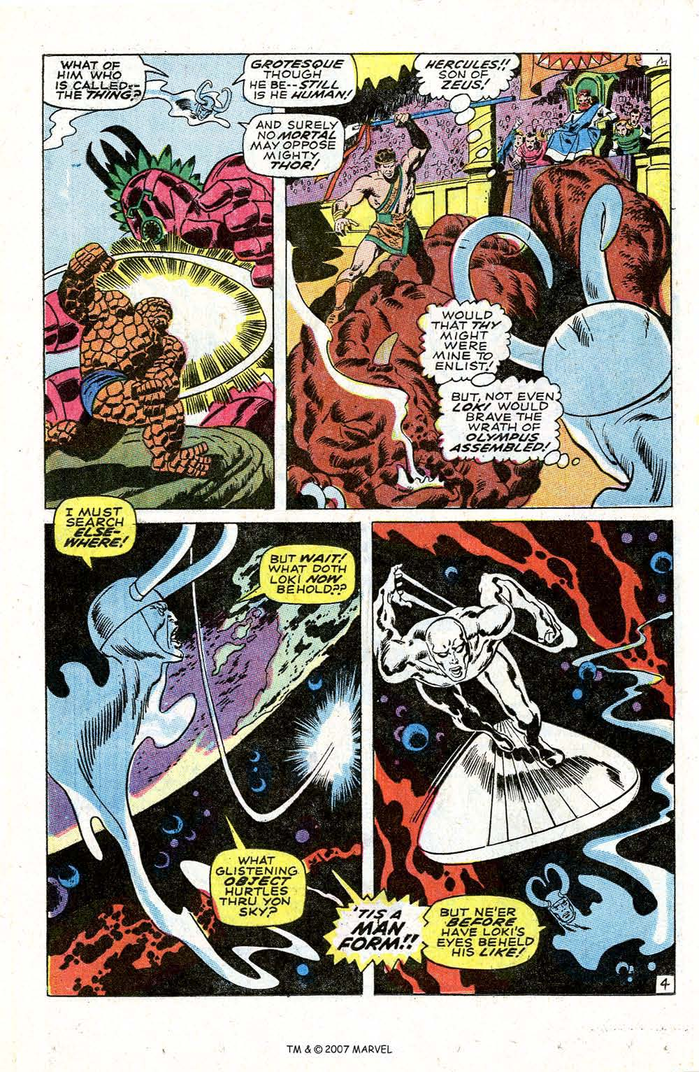 Read online Silver Surfer (1968) comic -  Issue #4 - 6