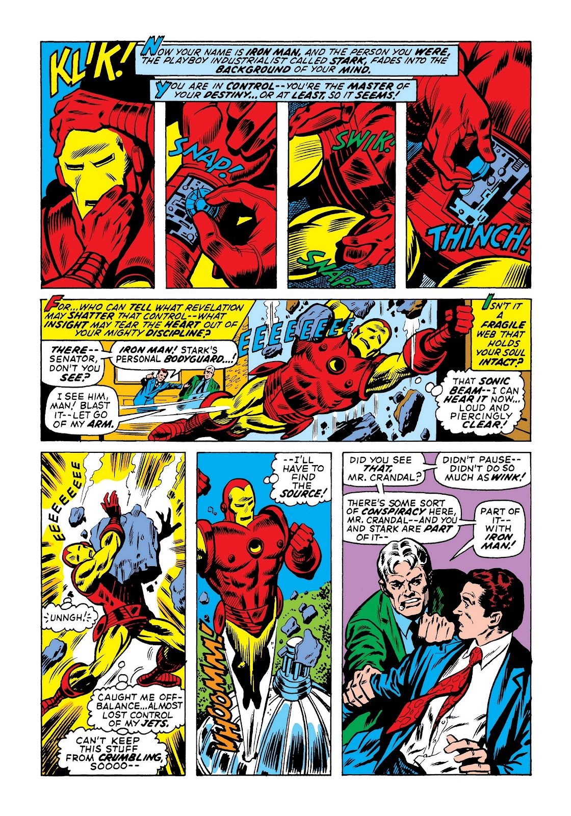 Read online Marvel Masterworks: The Invincible Iron Man comic -  Issue # TPB 8 (Part 1) - 61