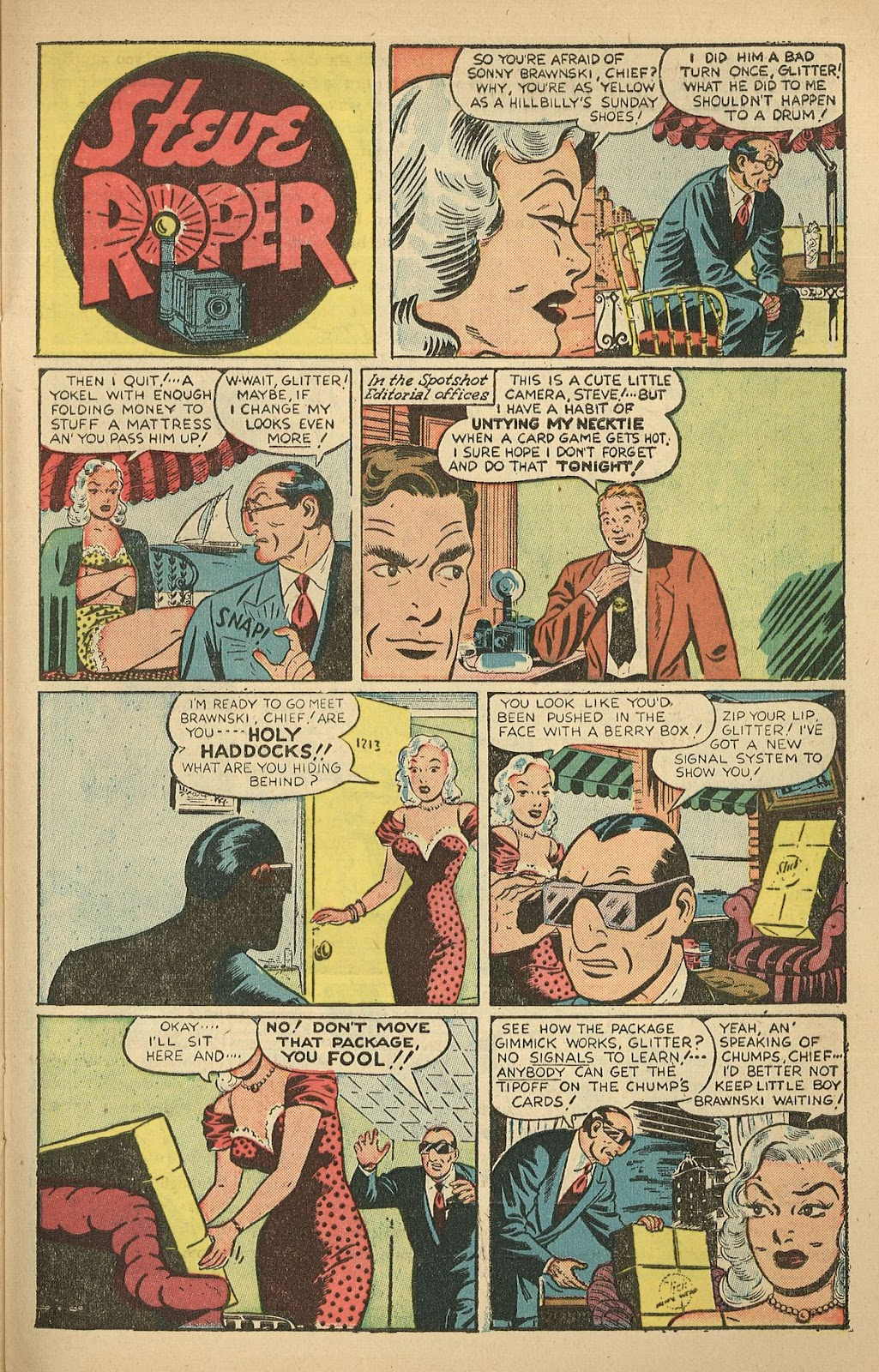 Read online Famous Funnies comic -  Issue #208 - 27