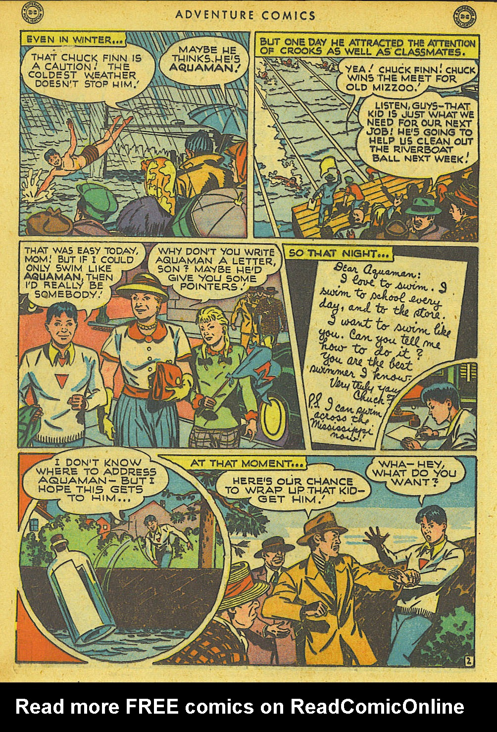 Read online Adventure Comics (1938) comic -  Issue #136 - 28