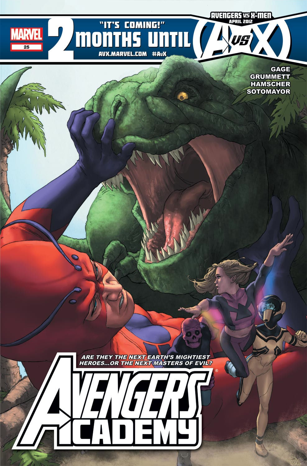 Avengers Academy issue 25 - Page 1