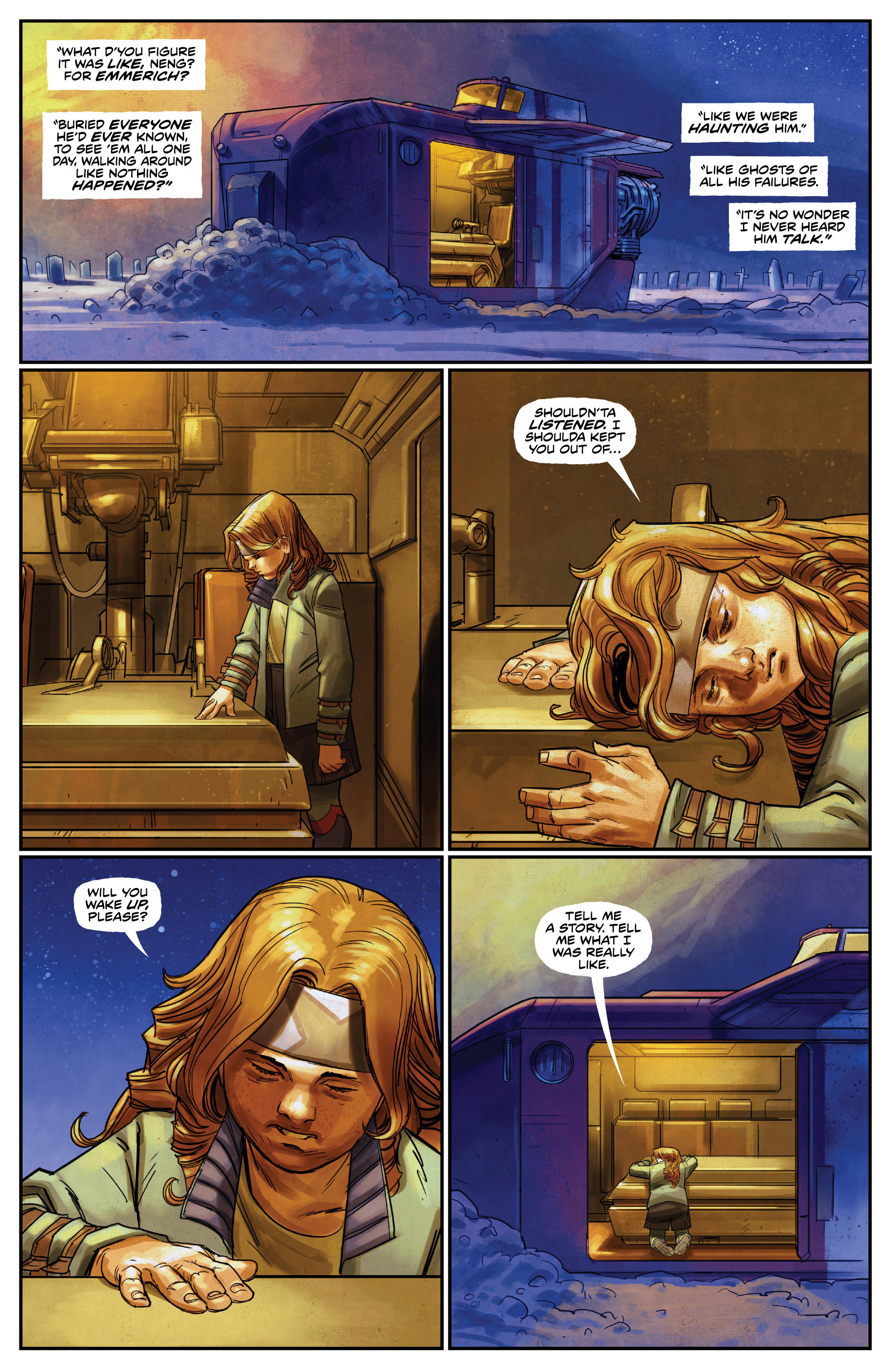 Read online Drifter (2014) comic -  Issue #19 - 11