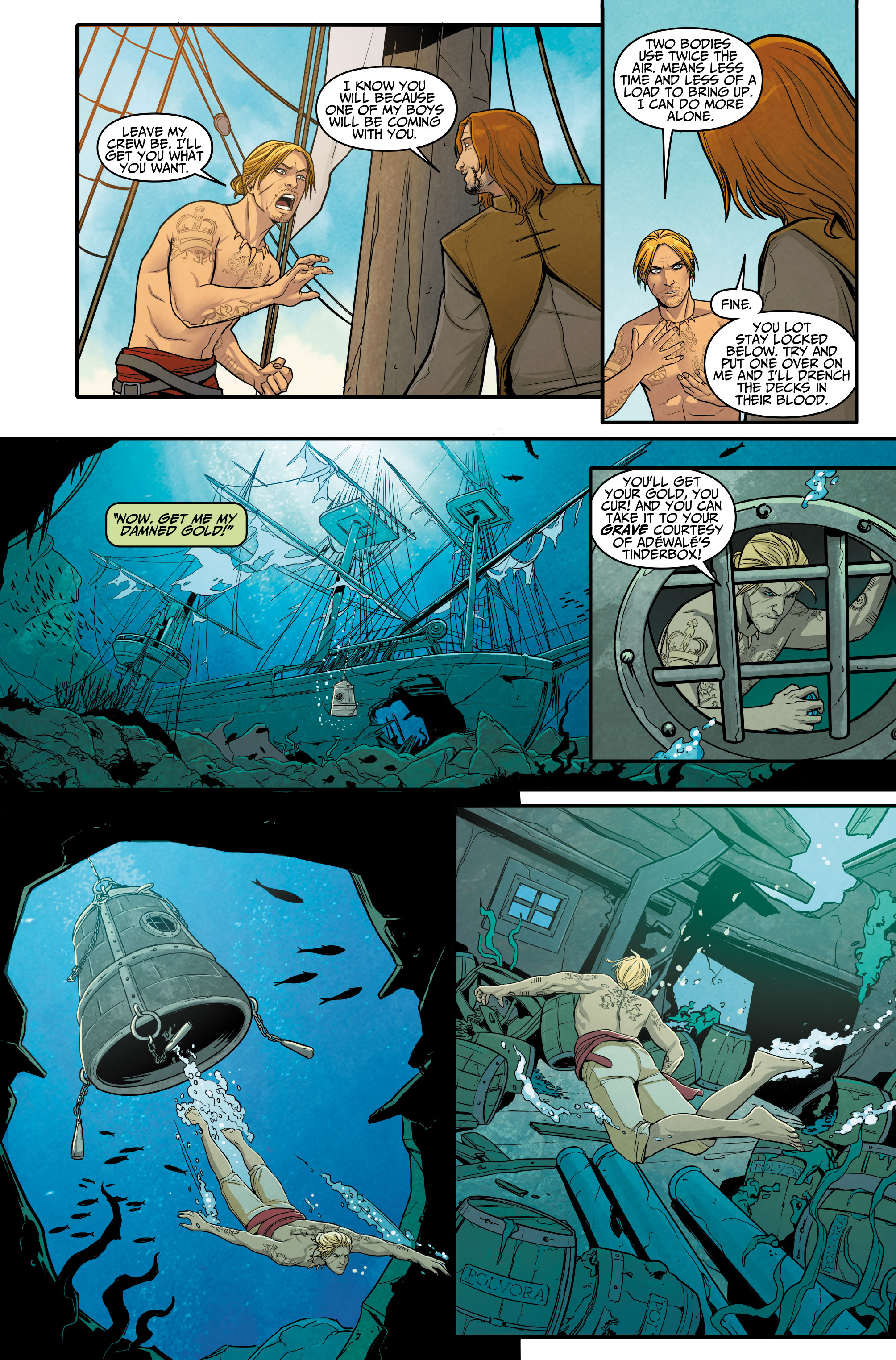 Read online Assassin's Creed: Reflections comic -  Issue #3 - 11