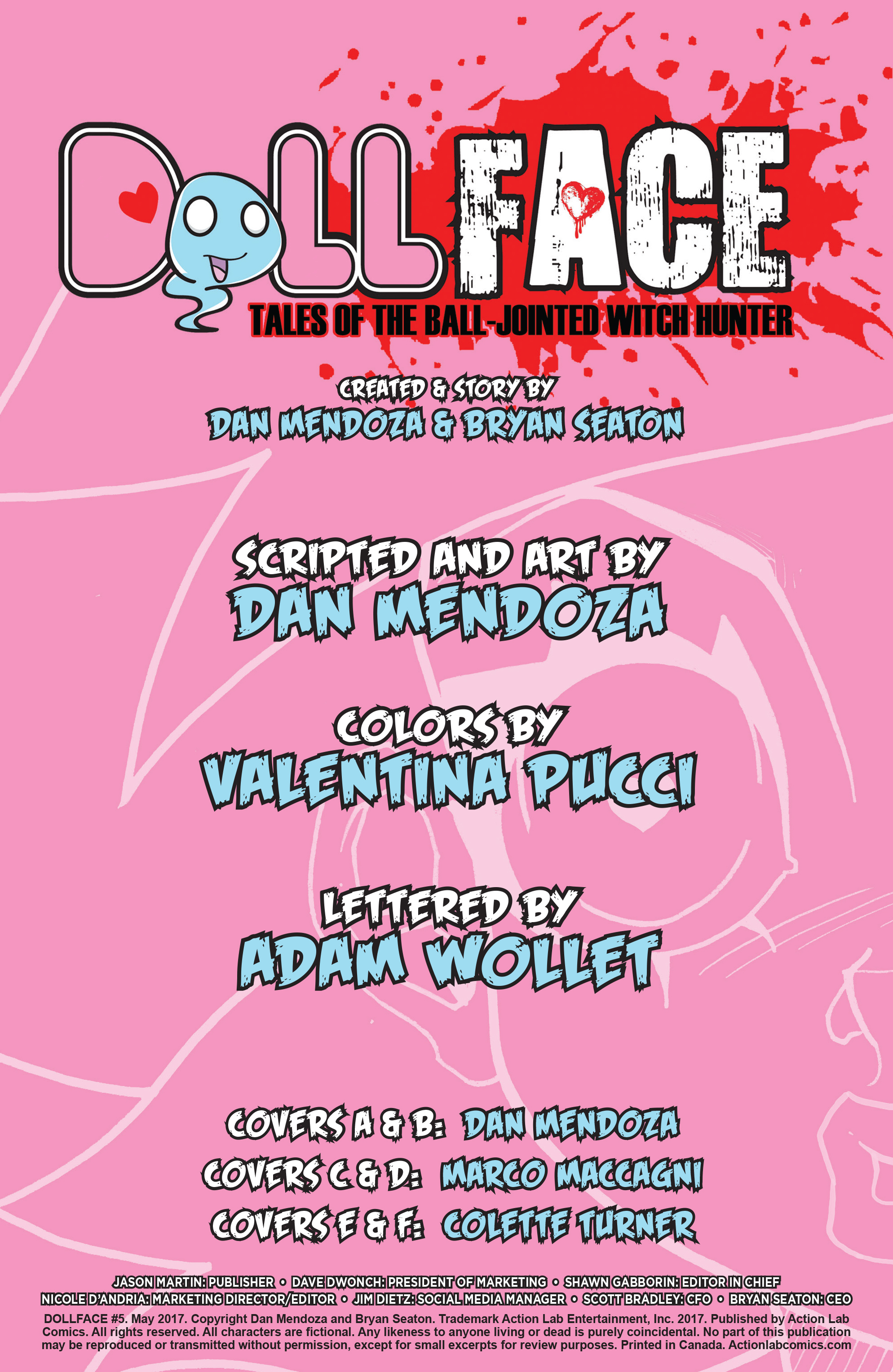Read online Dollface comic -  Issue #5 - 3