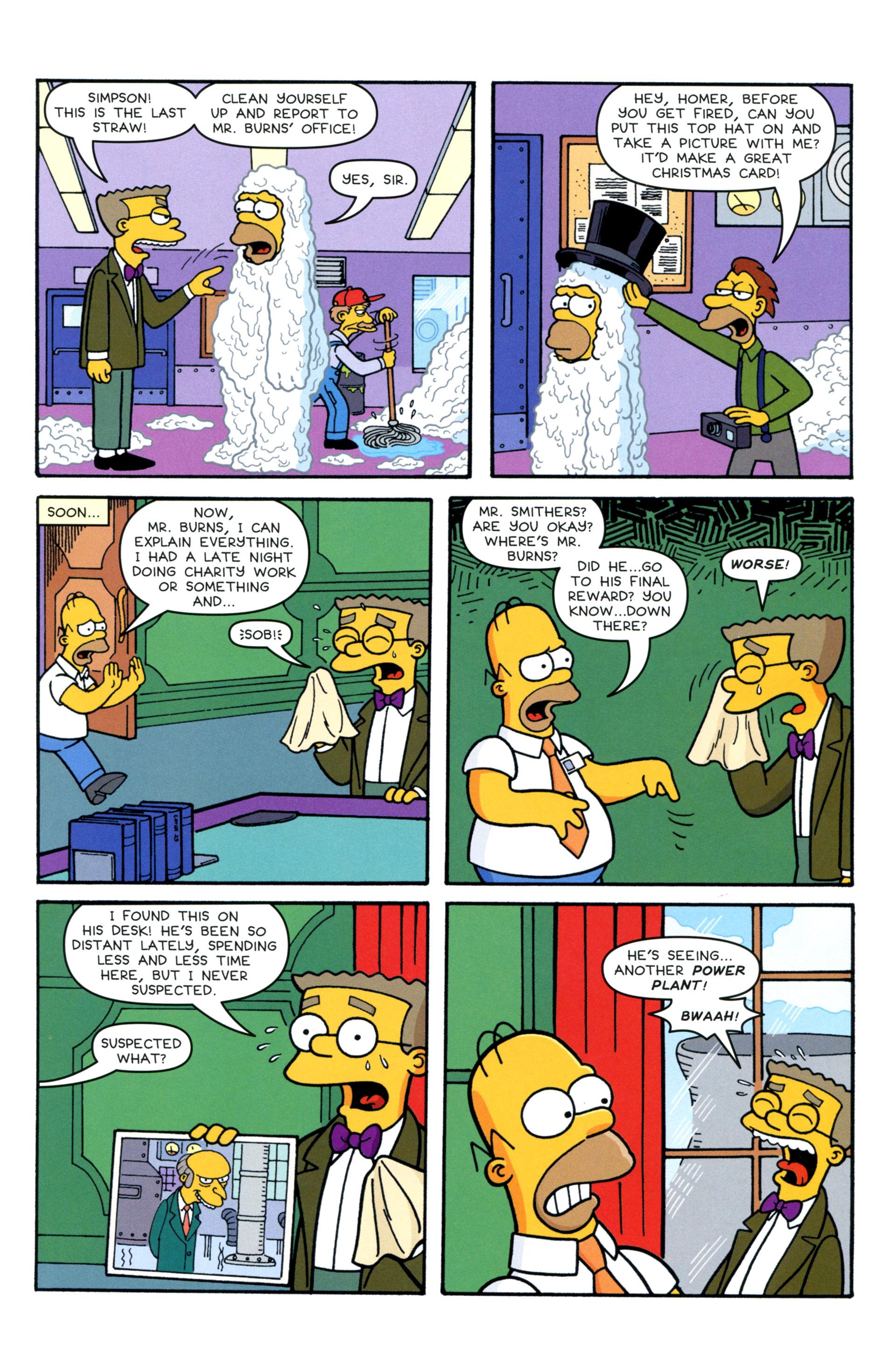 Read online Simpsons Comics comic -  Issue #206 - 5