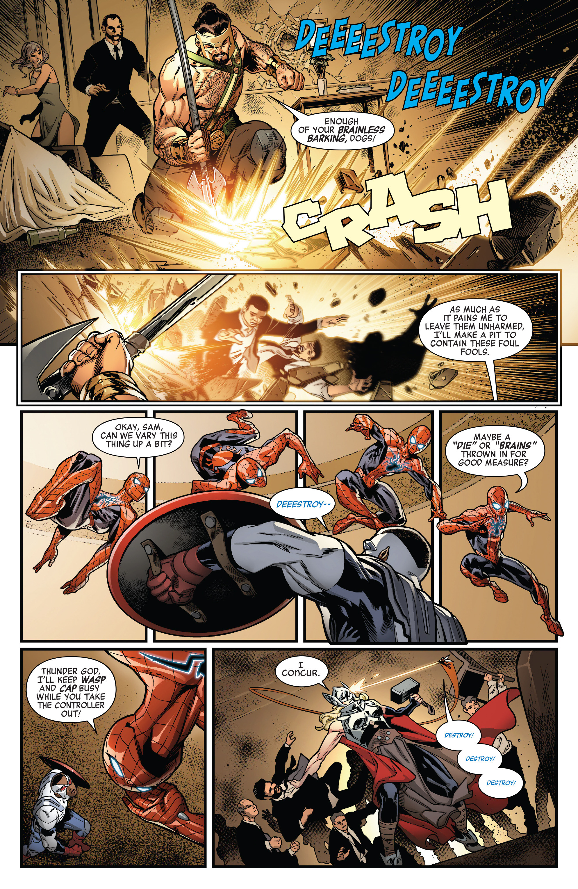 Read online Avengers (2016) comic -  Issue #1.MU - 13