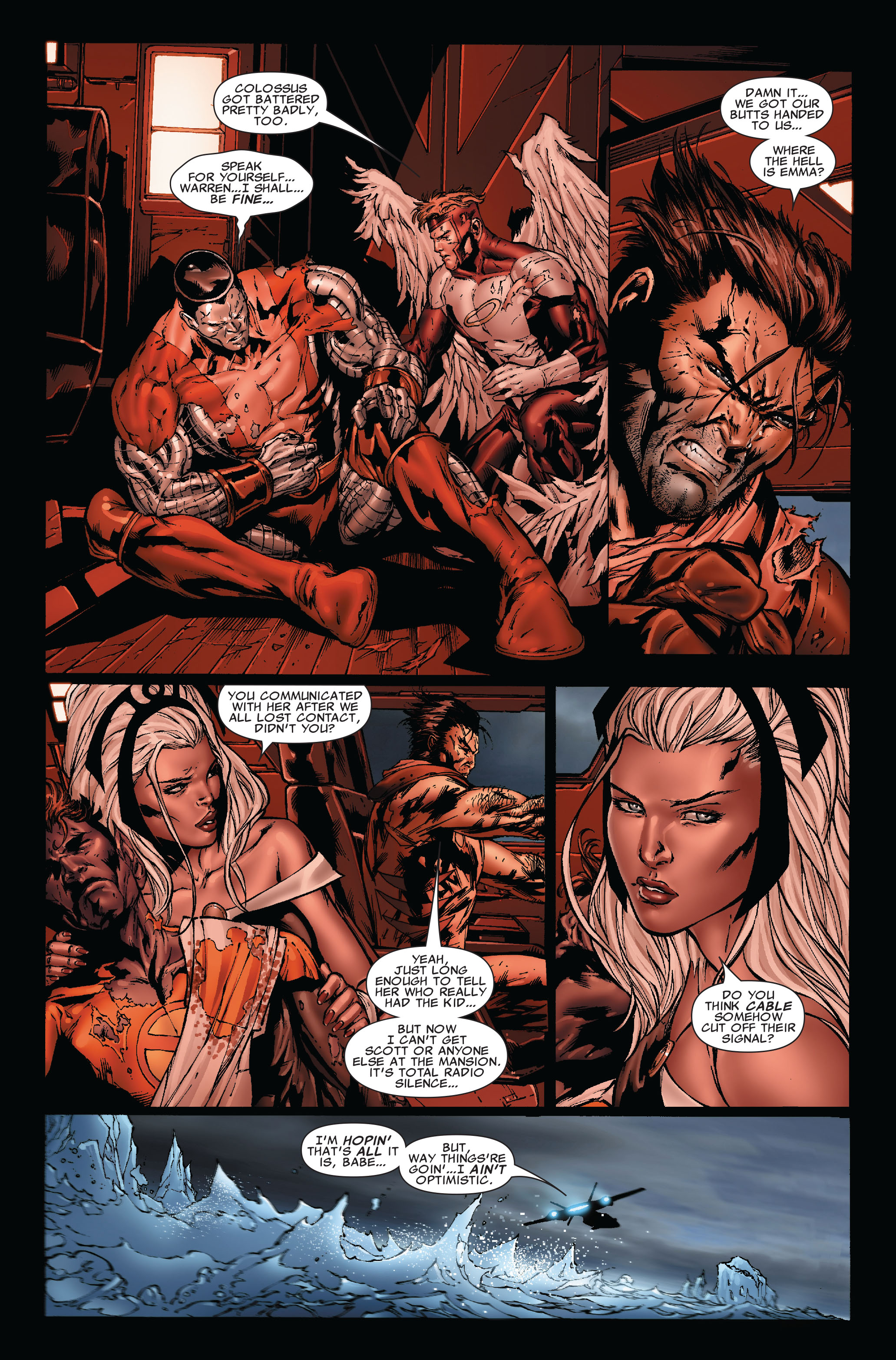 Read online Uncanny X-Men (1963) comic -  Issue #493 - 4