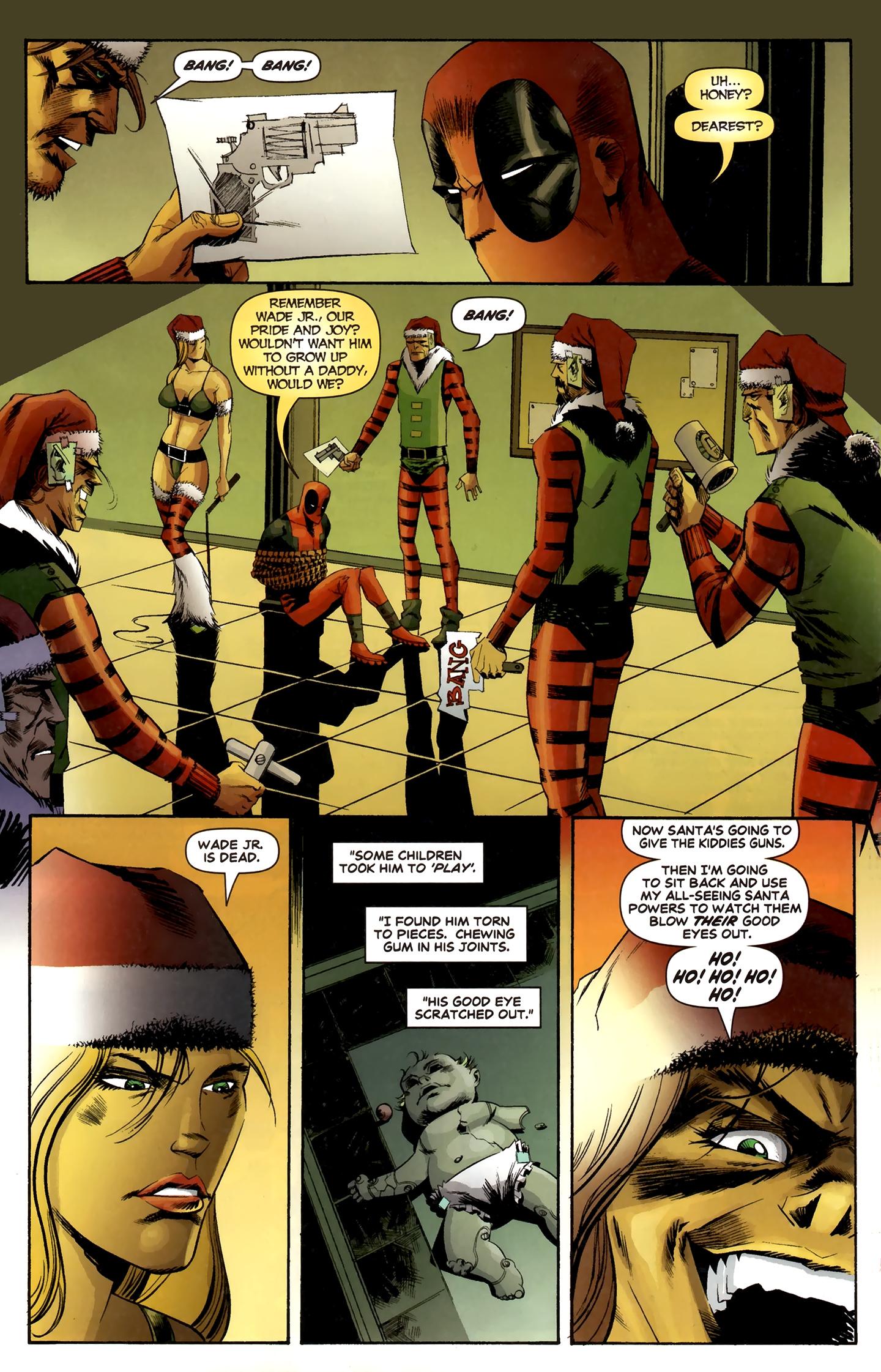 Read online Deadpool MAX X-Mas Special comic -  Issue # Full - 28