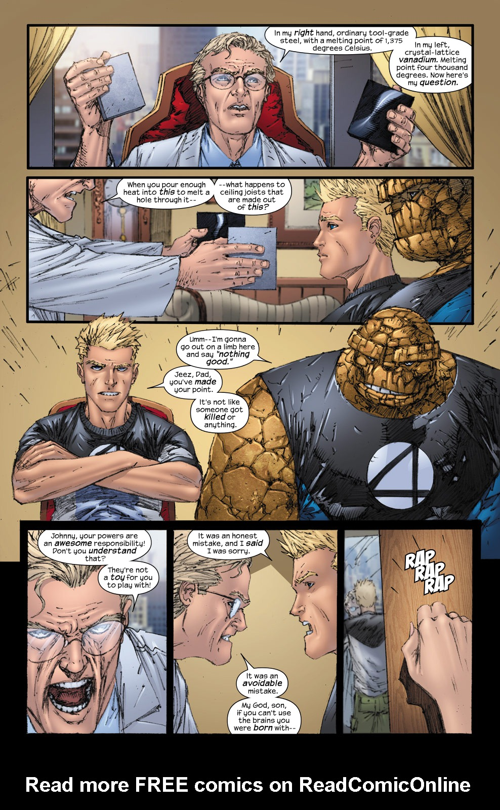 Read online Ultimate Fantastic Four (2004) comic -  Issue #54 - 13
