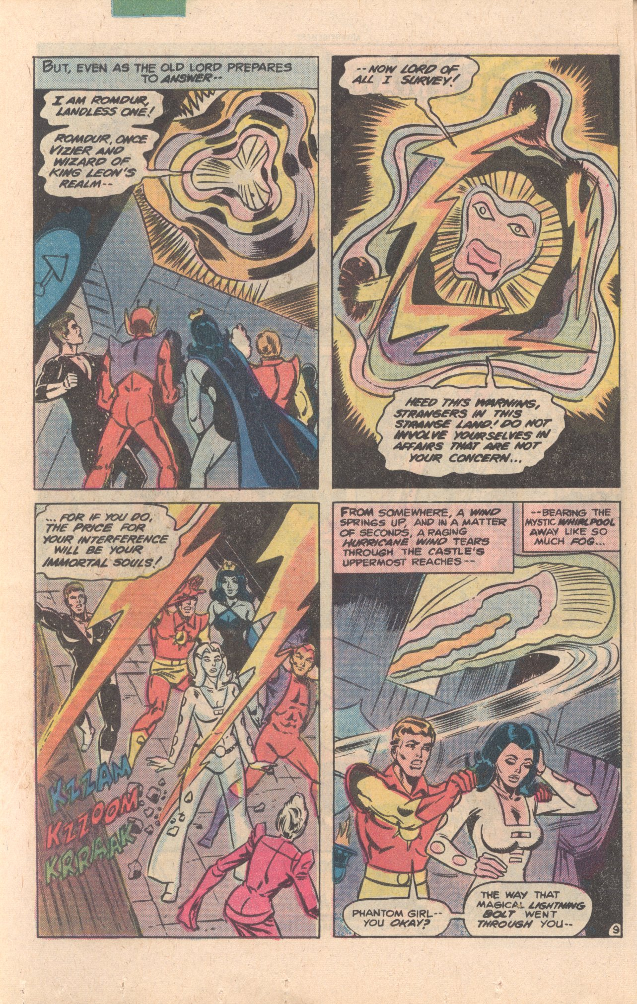 Legion of Super-Heroes (1980) 276 Page 9