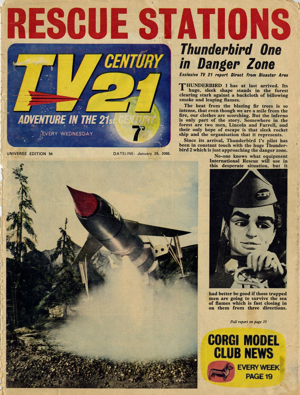 TV Century 21 (TV 21) issue 54 - Page 1
