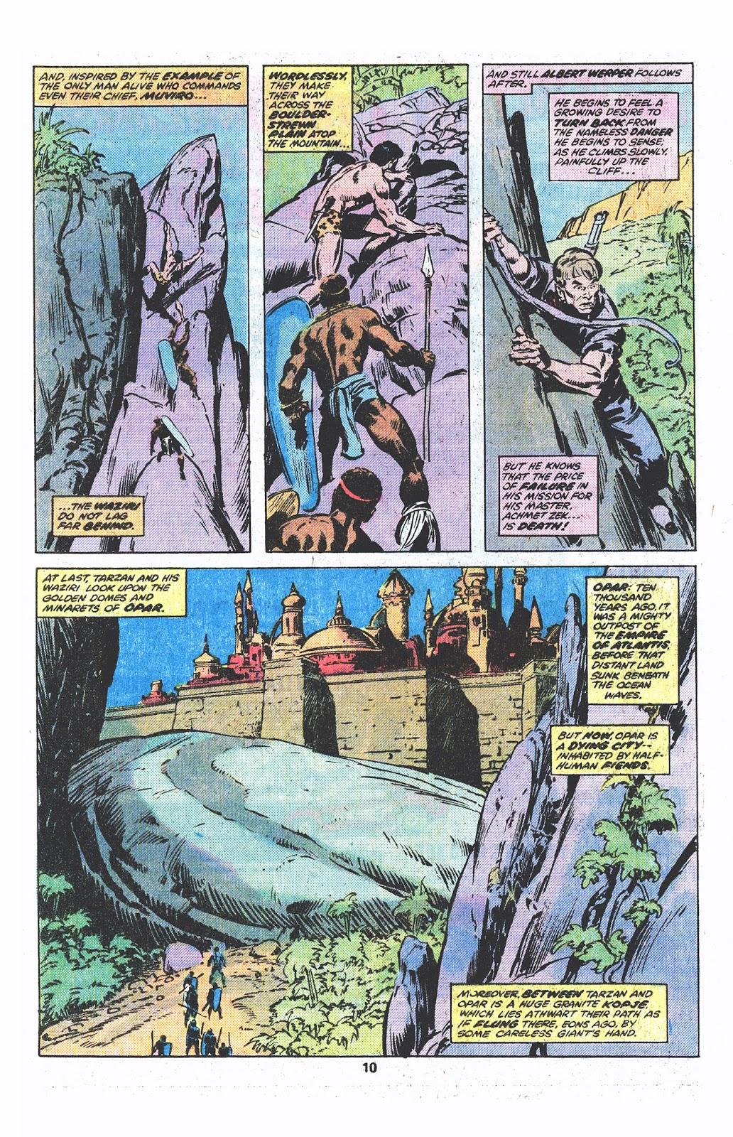 Tarzan (1977) issue 3 - Page 7
