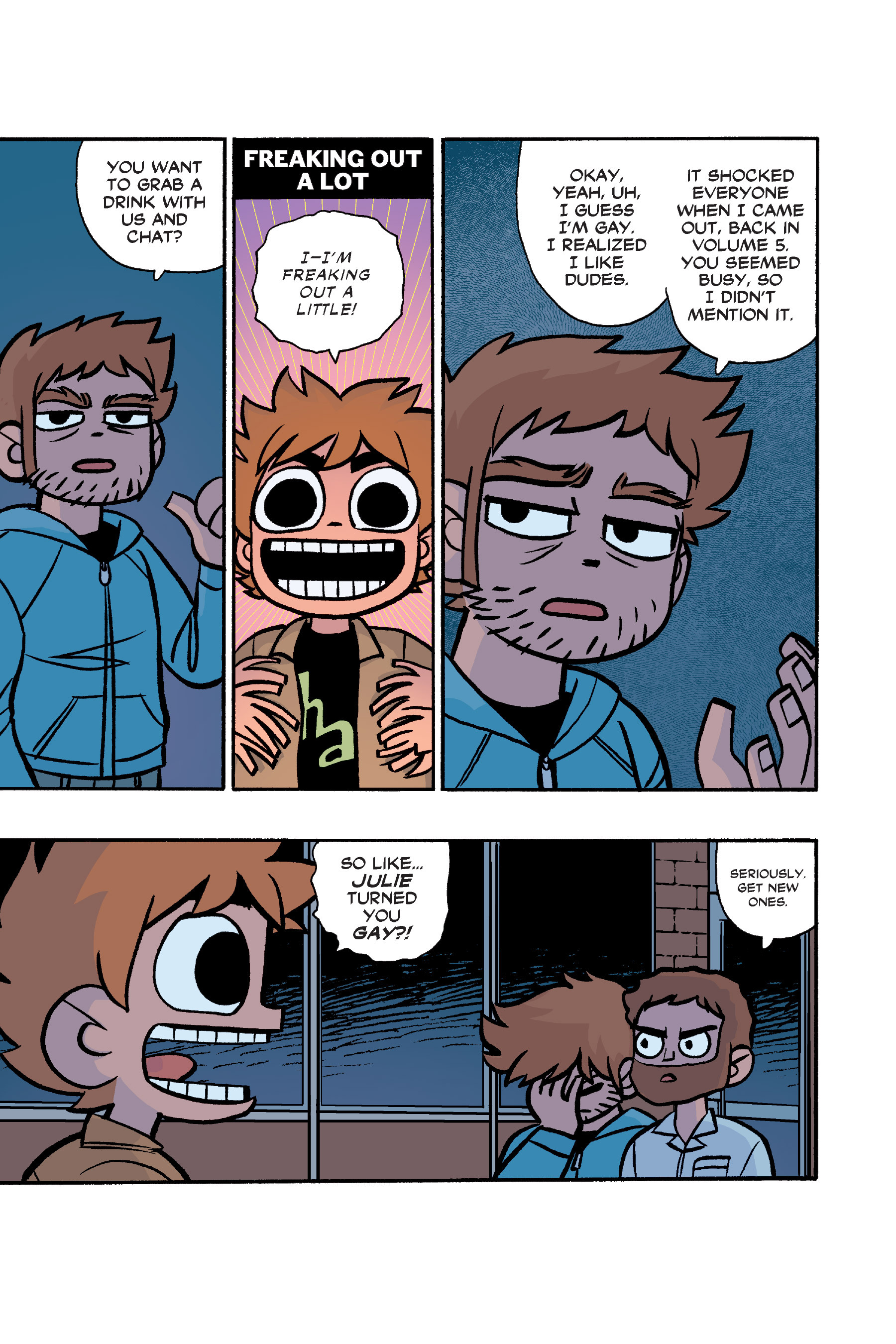 Read online Scott Pilgrim comic -  Issue #6 - 230