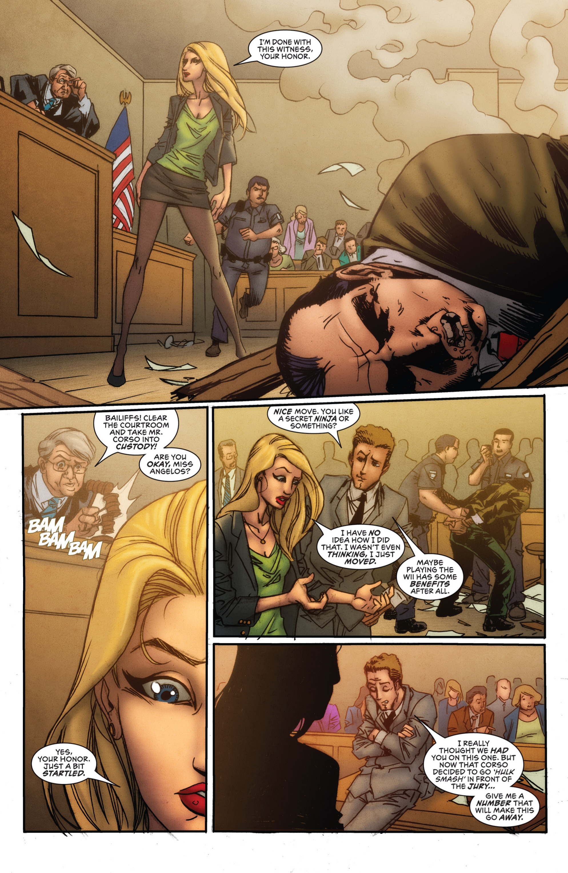 Read online Grimm Fairy Tales presents Grimm Universe comic -  Issue # TPB - 10