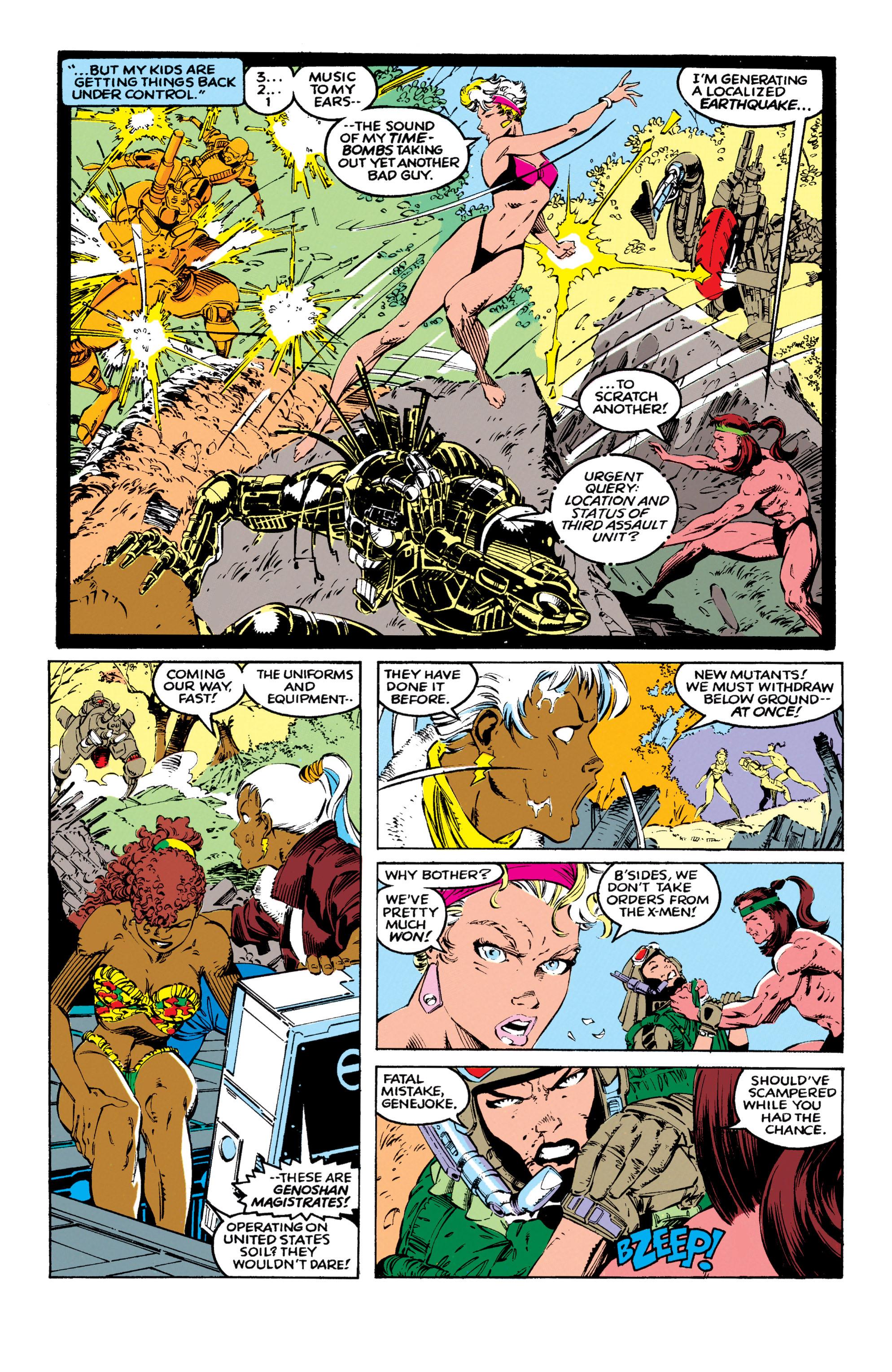 Read online Uncanny X-Men (1963) comic -  Issue #270 - 16