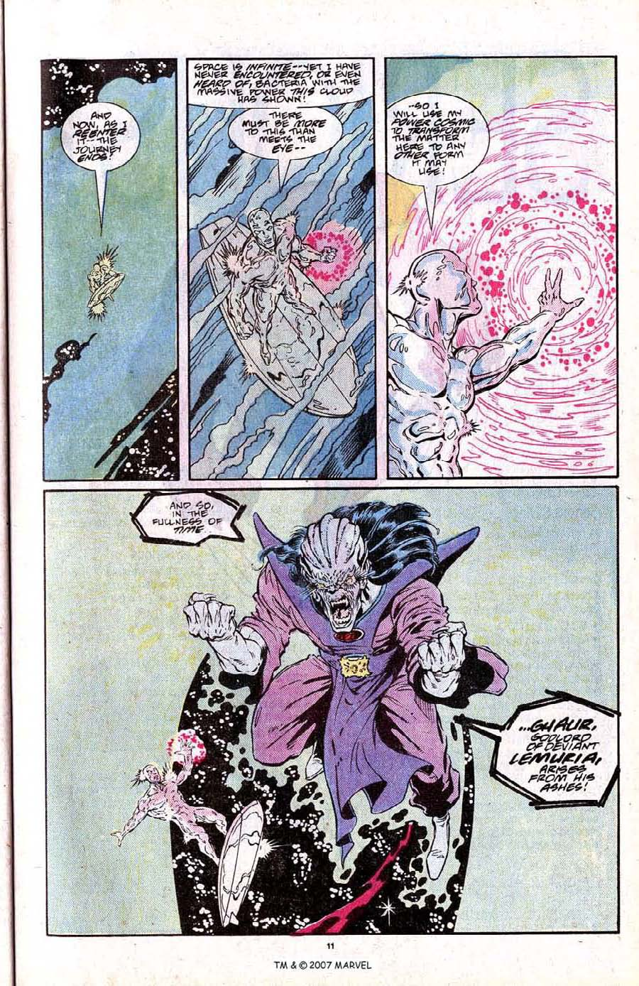Read online Silver Surfer (1987) comic -  Issue # _Annual 2 - 13