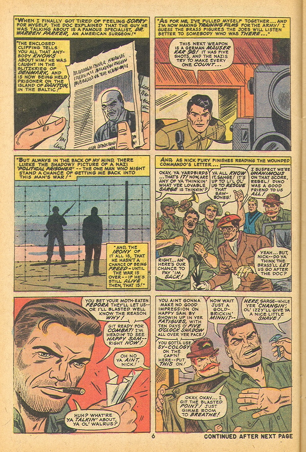Read online Sgt. Fury comic -  Issue #109 - 8