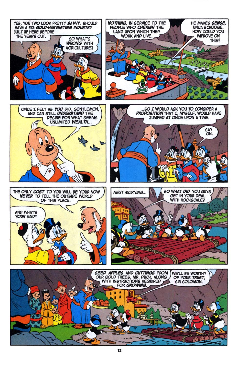 Read online Uncle Scrooge (1953) comic -  Issue #246 - 14