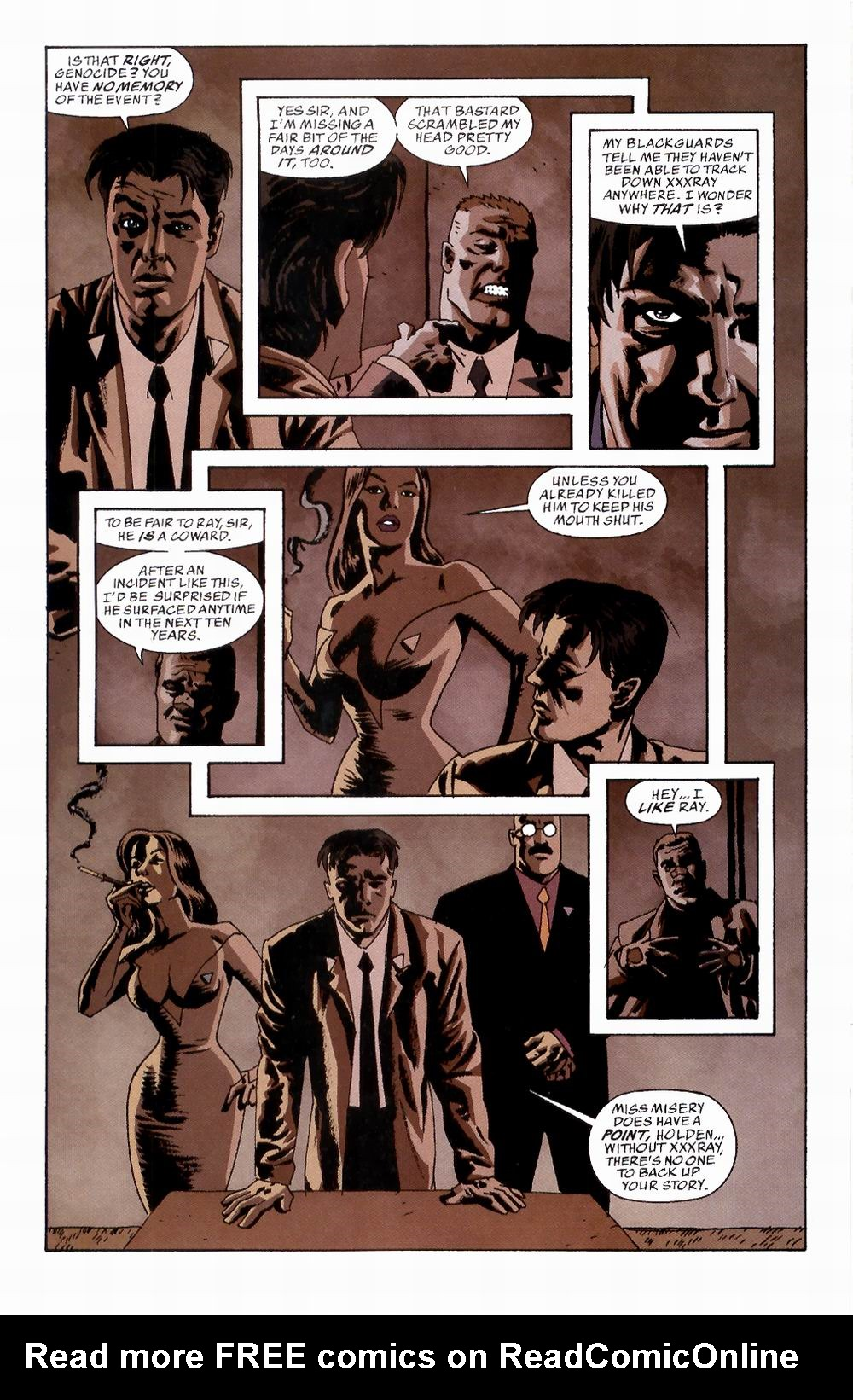 Read online Sleeper comic -  Issue #2 - 18