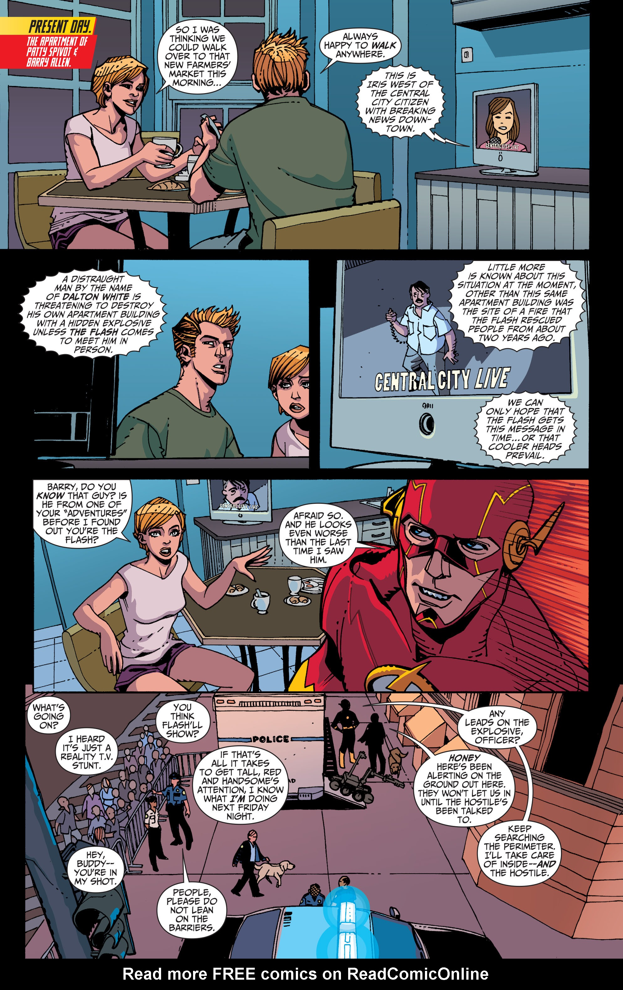 Read online The Flash (2011) comic -  Issue # _TPB 5 - 40