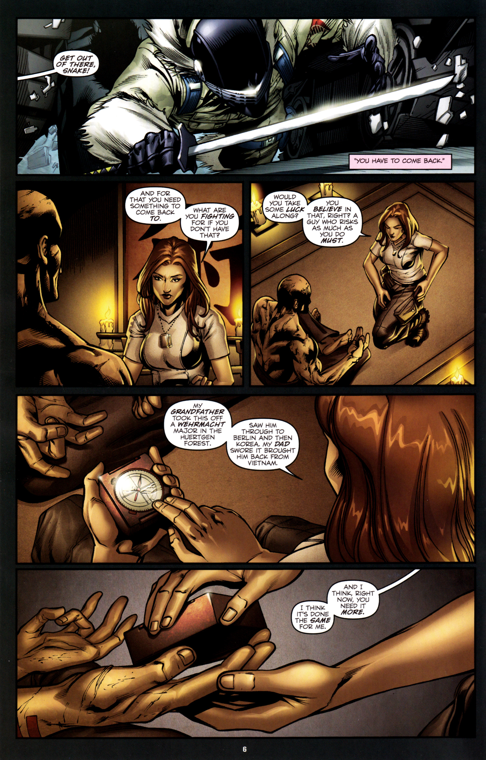 Read online G.I. Joe: Snake Eyes comic -  Issue #2 - 9