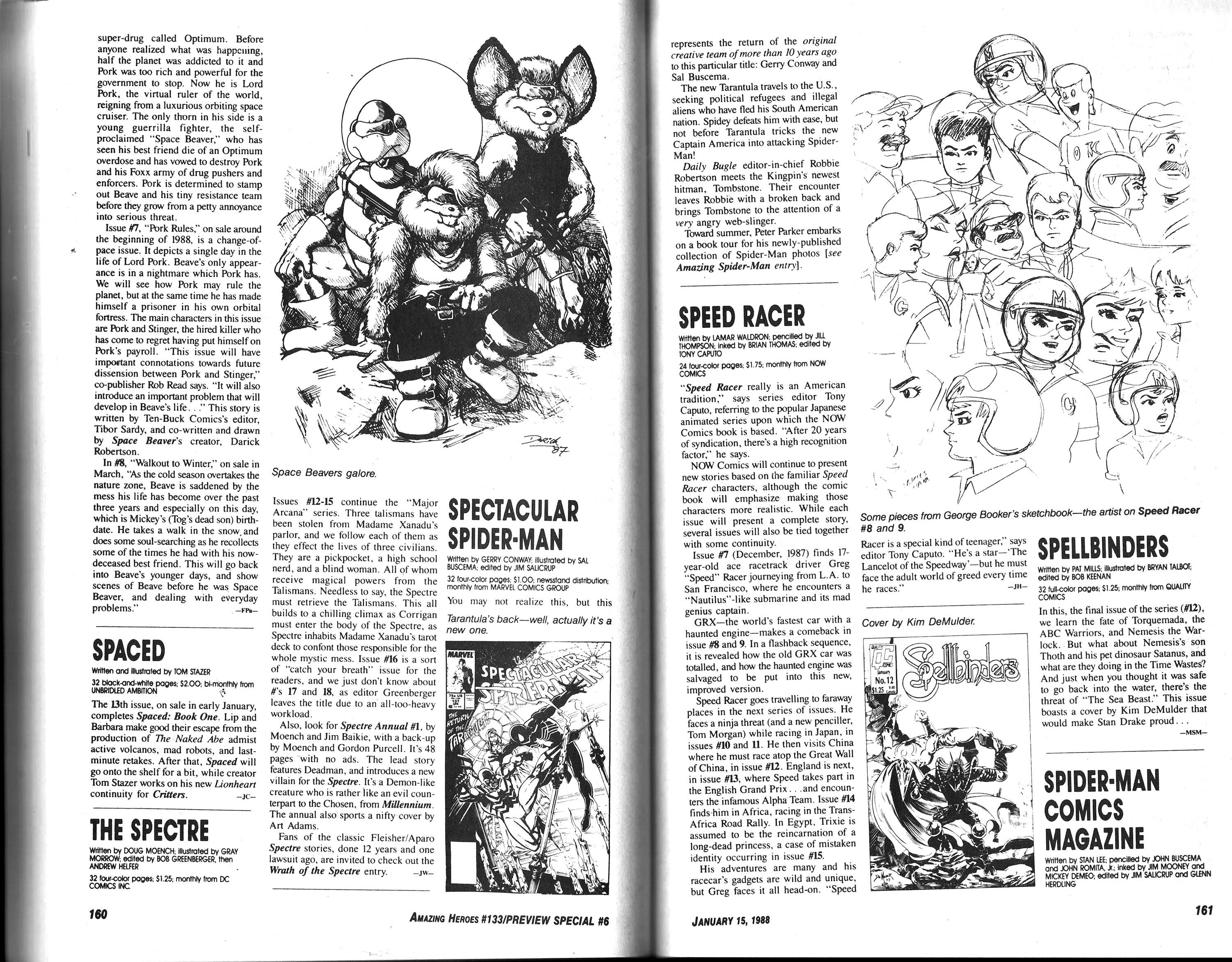 Read online Amazing Heroes comic -  Issue #133 - 82