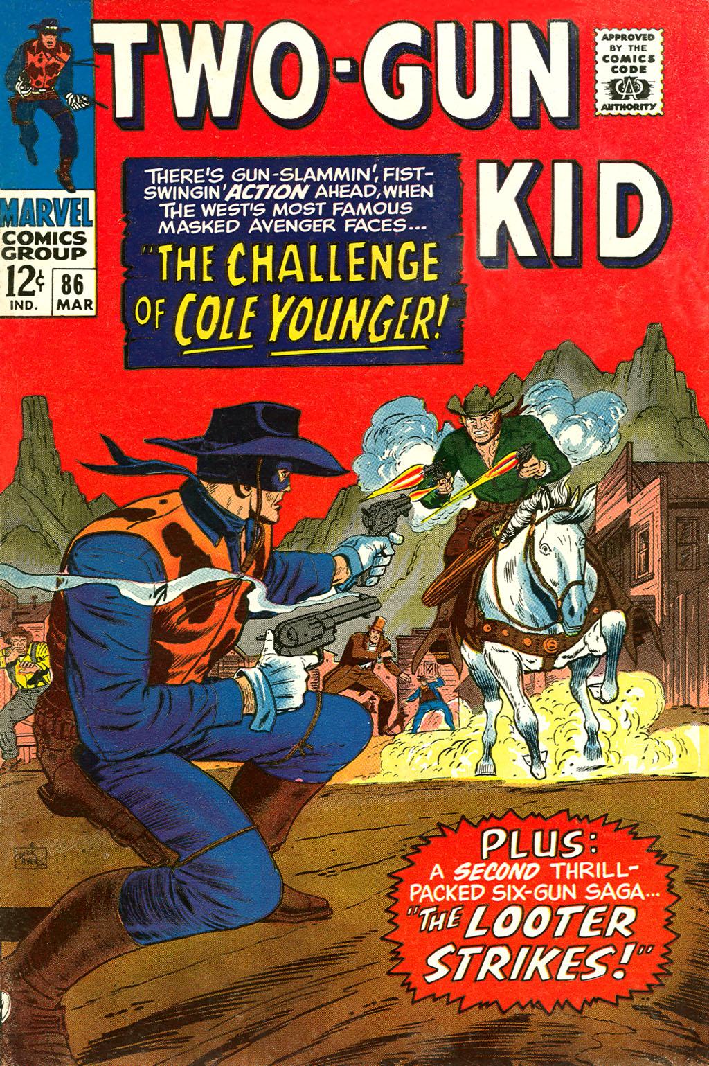 Read online Two-Gun Kid comic -  Issue #86 - 1
