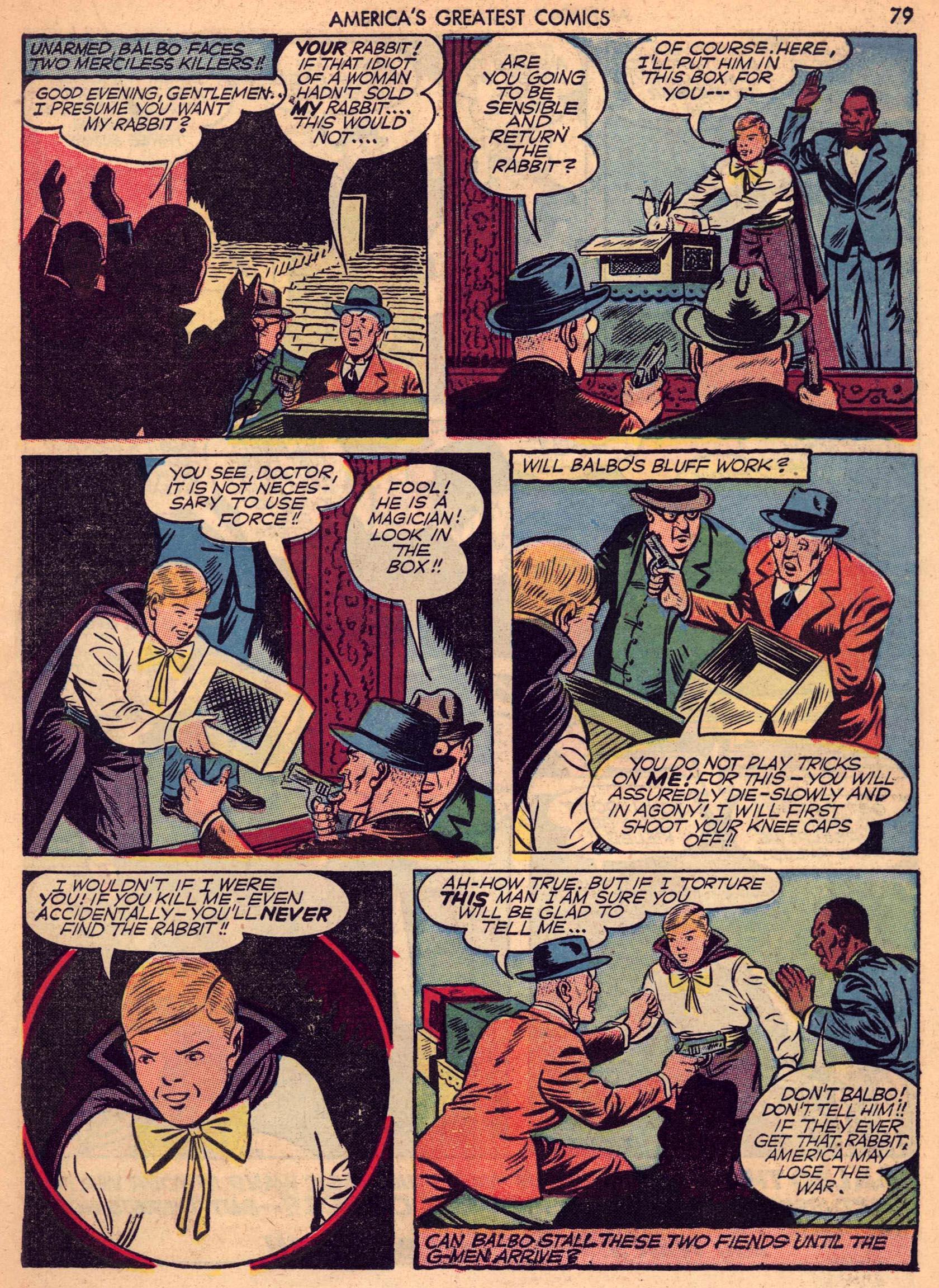 Read online America's Greatest Comics comic -  Issue #7 - 78