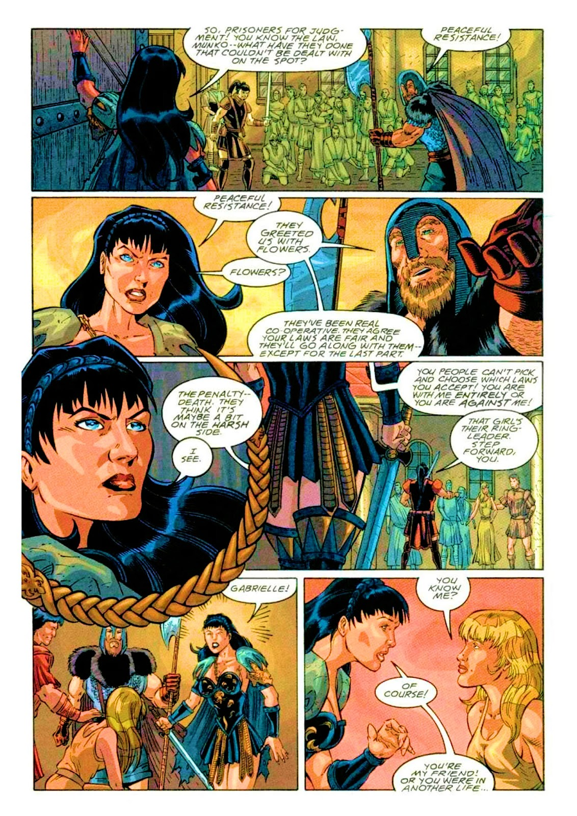 Xena: Warrior Princess (1999) Issue #2 #2 - English 19